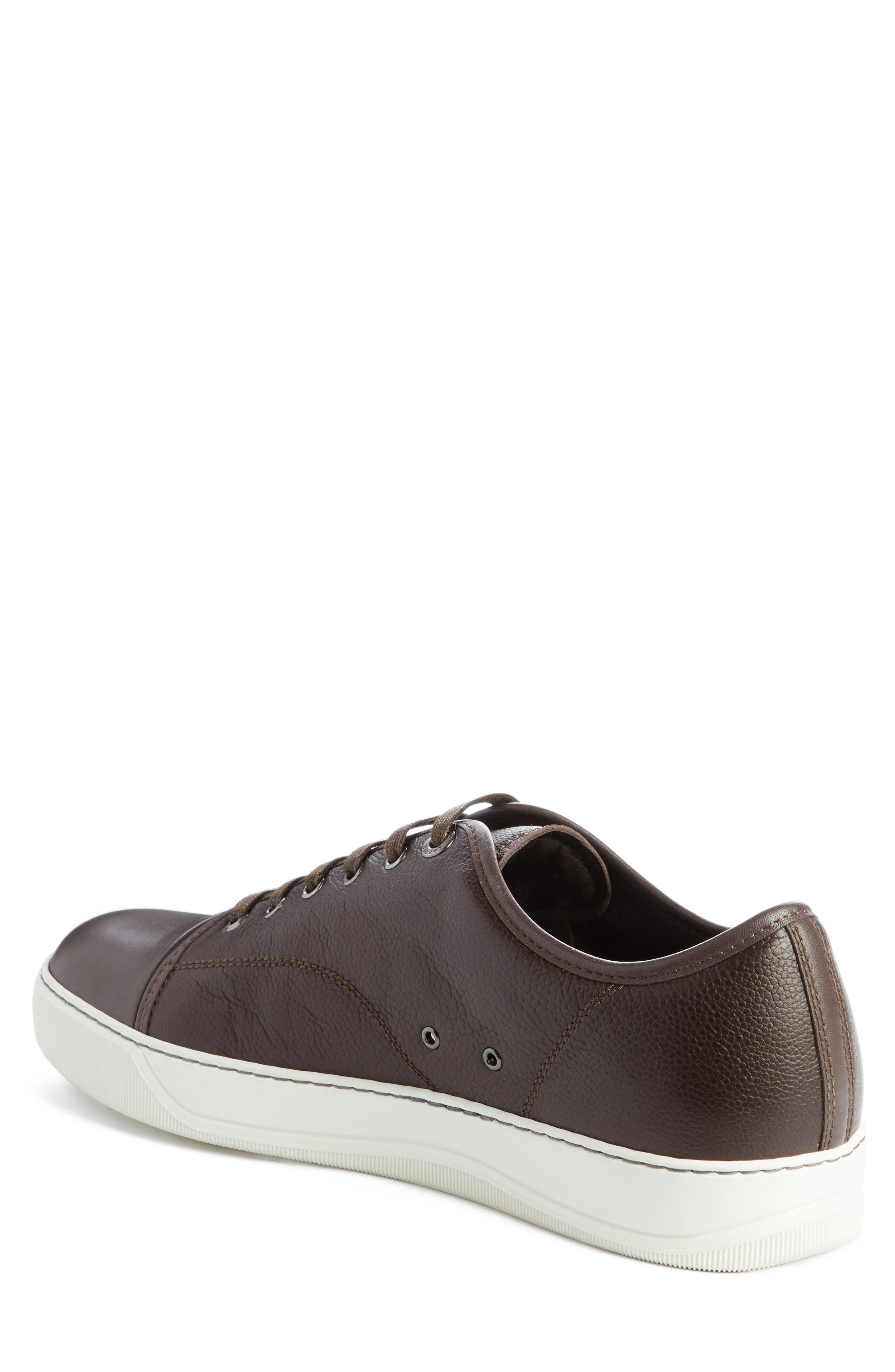 Alternate Image 2  - Lanvin Shiny Cap Toe Sneaker (Men)