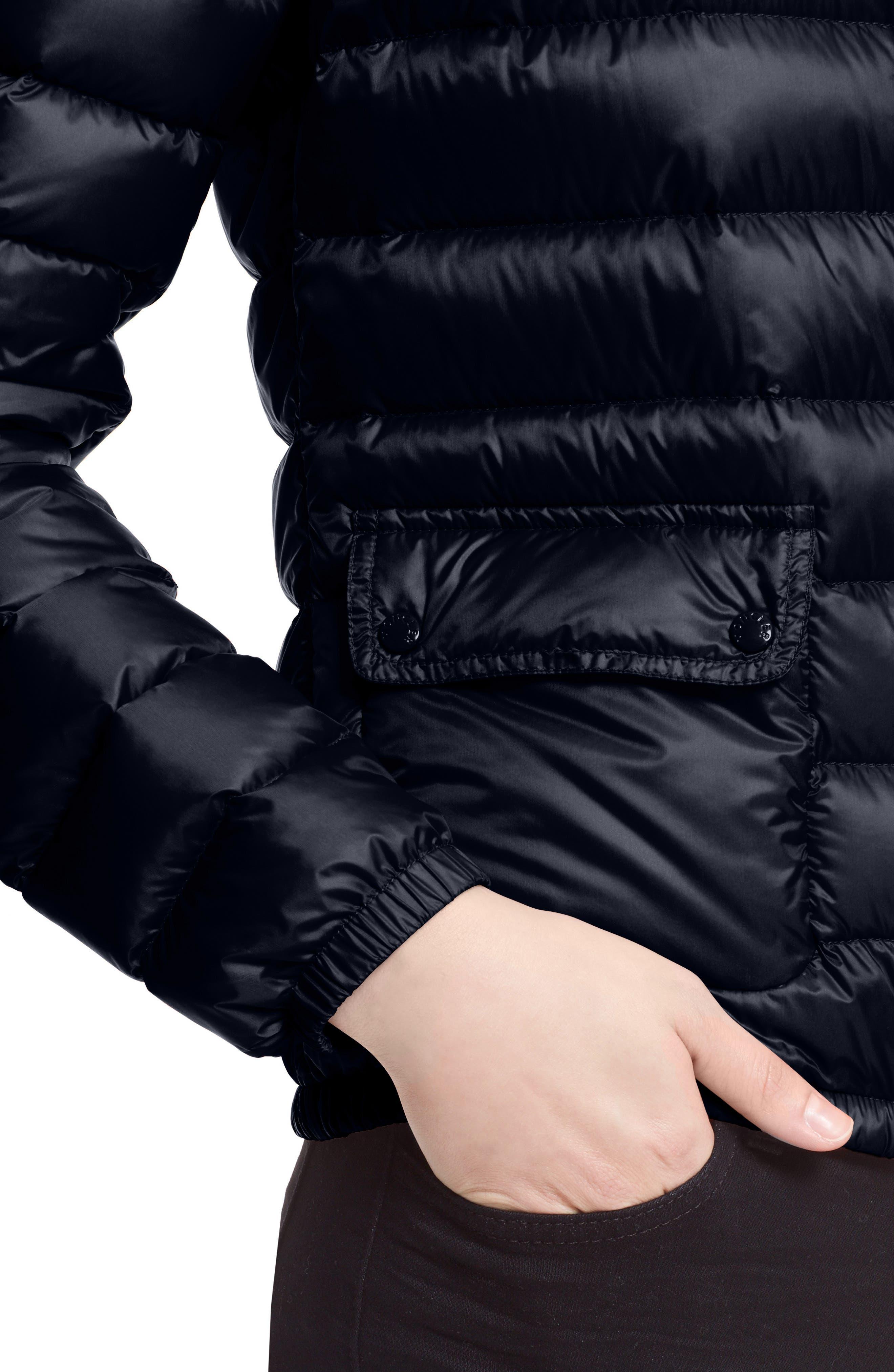 Alternate Image 6  - Moncler 'Lans' Water Resistant Short Down Jacket