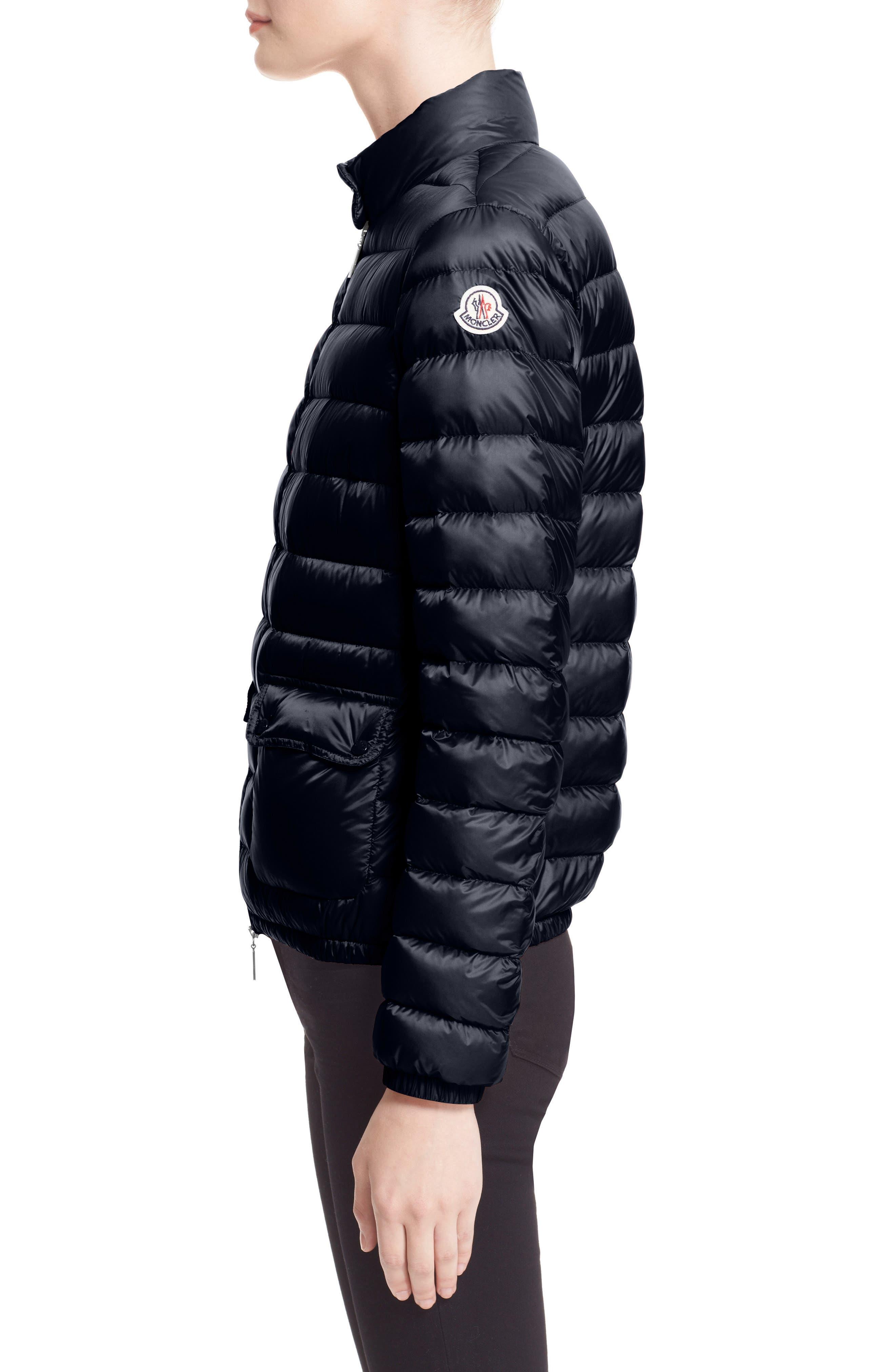 Alternate Image 4  - Moncler 'Lans' Water Resistant Short Down Jacket