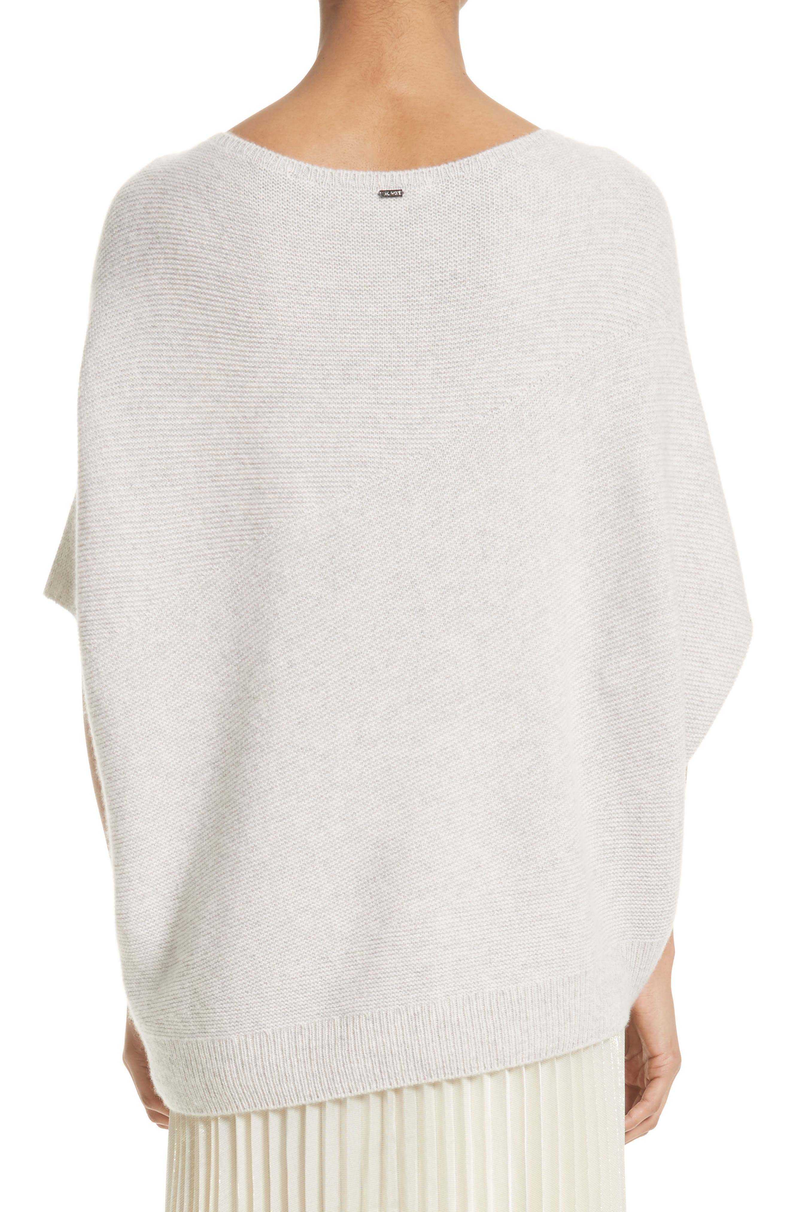 Alternate Image 2  - St. John Collection Cashmere Asymmetrical Sweater