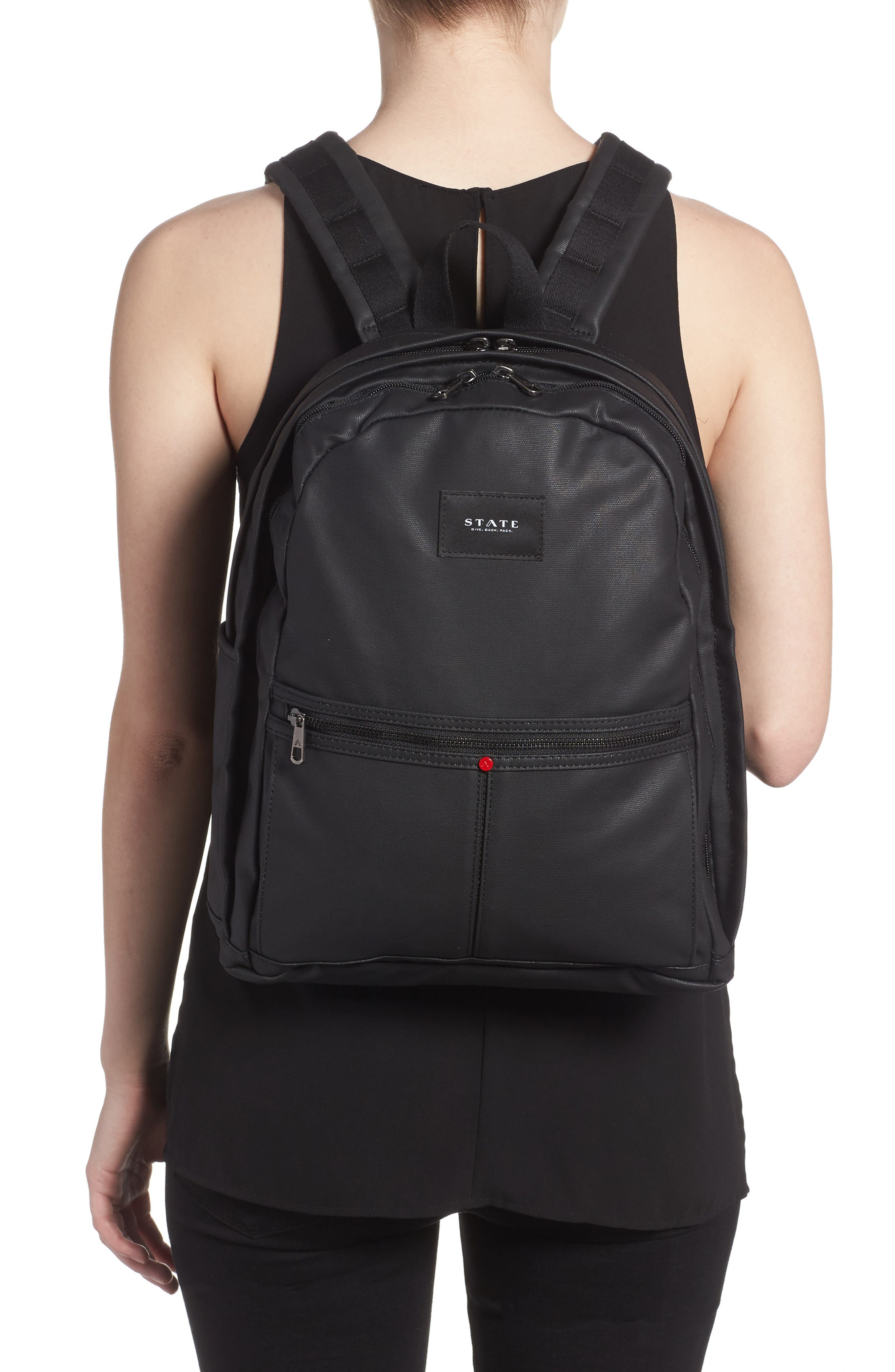 Greenpoint Kent Backpack,                             Alternate thumbnail 2, color,                             Black