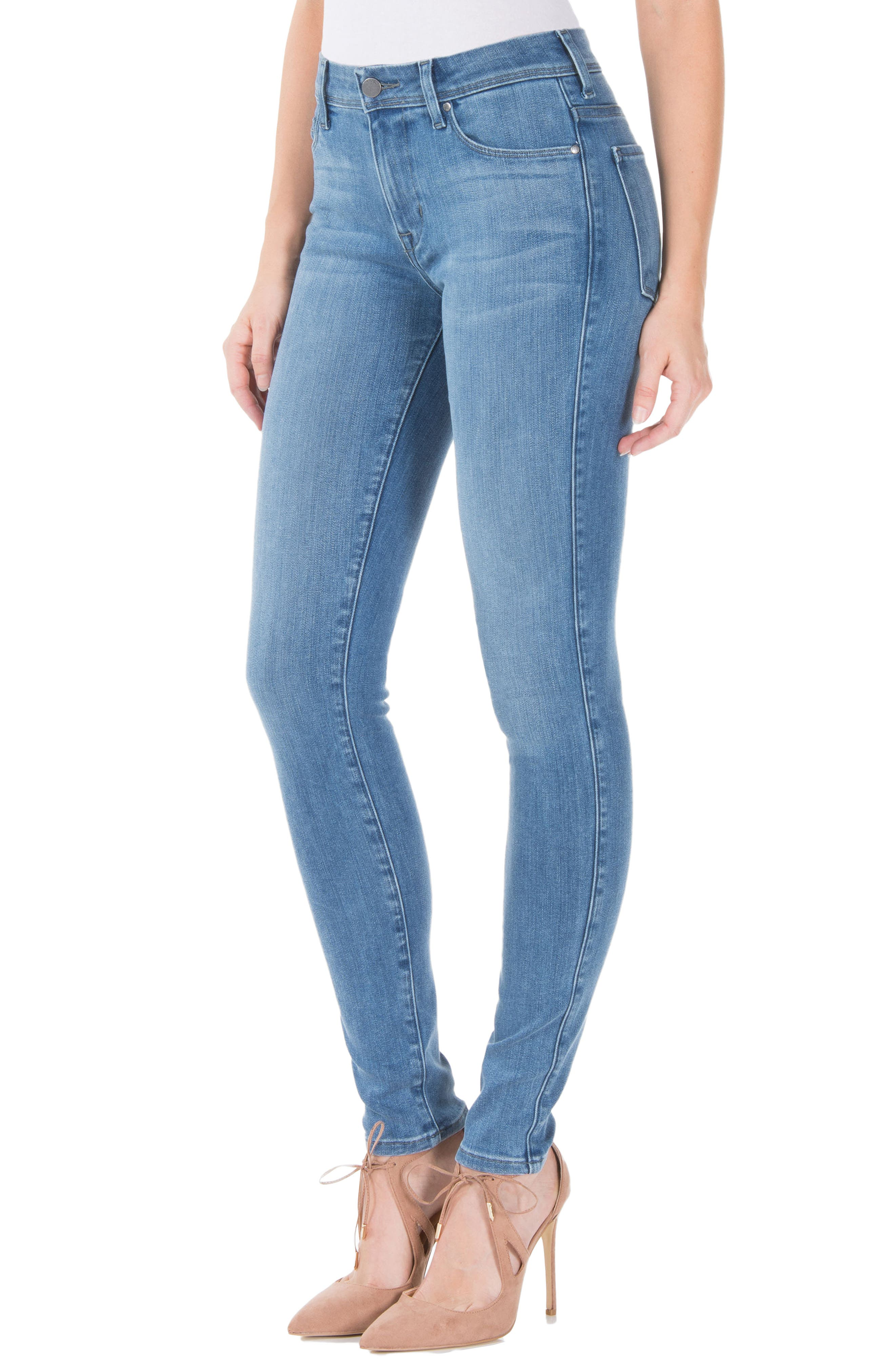 Alternate Image 3  - Fidelity Denim Belvedere Skinny Jeans (Greenwich)