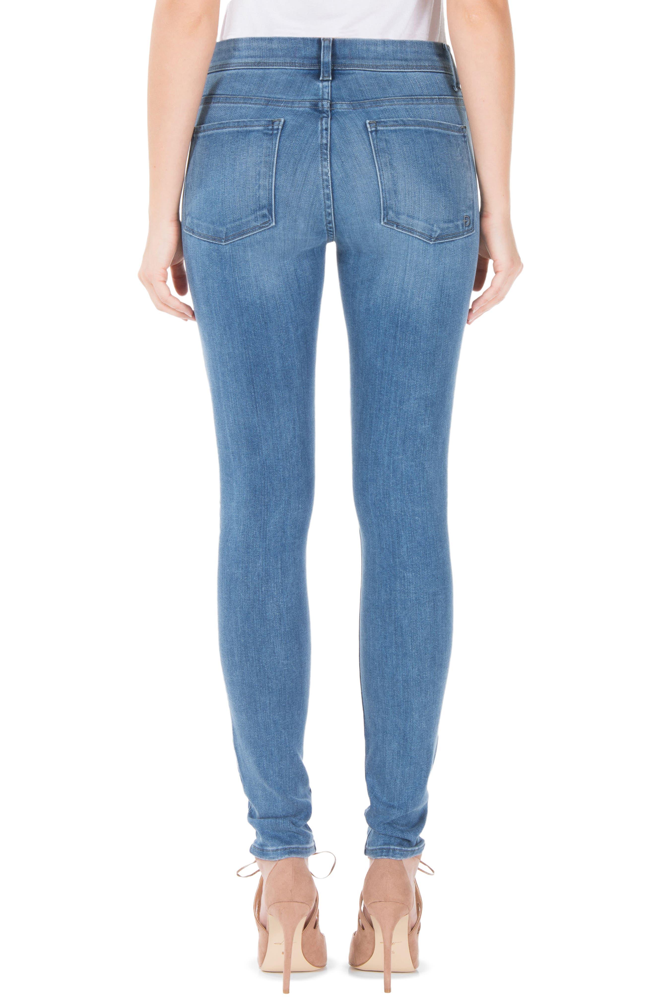 Alternate Image 2  - Fidelity Denim Belvedere Skinny Jeans (Greenwich)