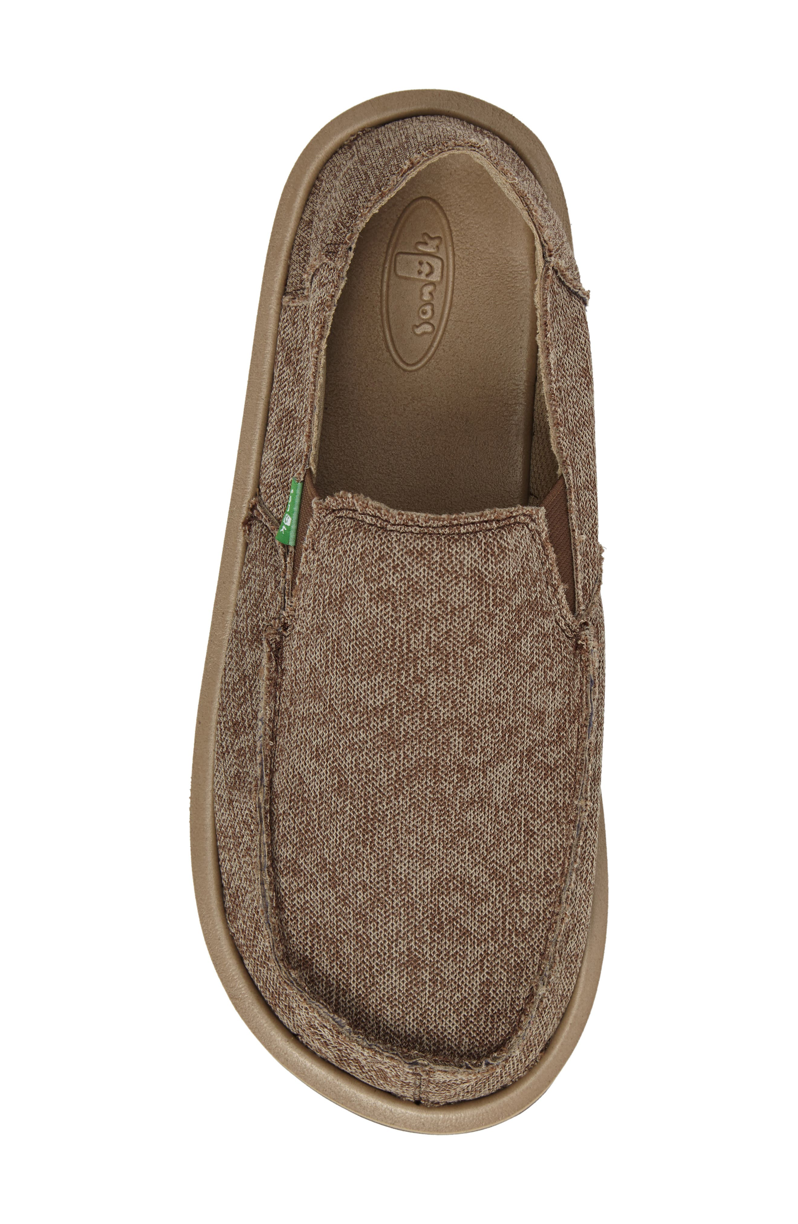 Slip-On,                             Alternate thumbnail 5, color,                             Brown