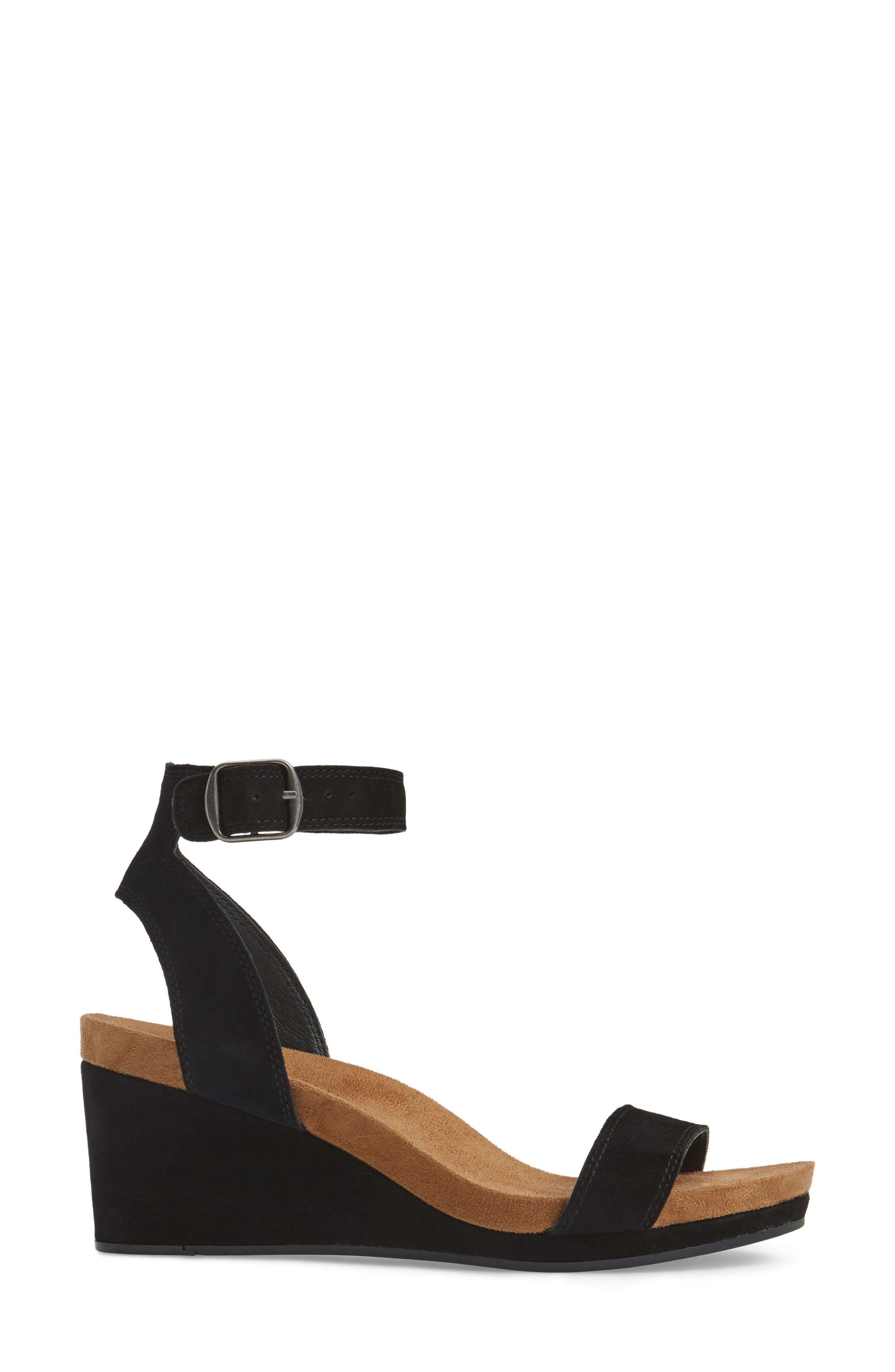 Alternate Image 3  - Lucky Brand Karston Wedge Sandal (Women)