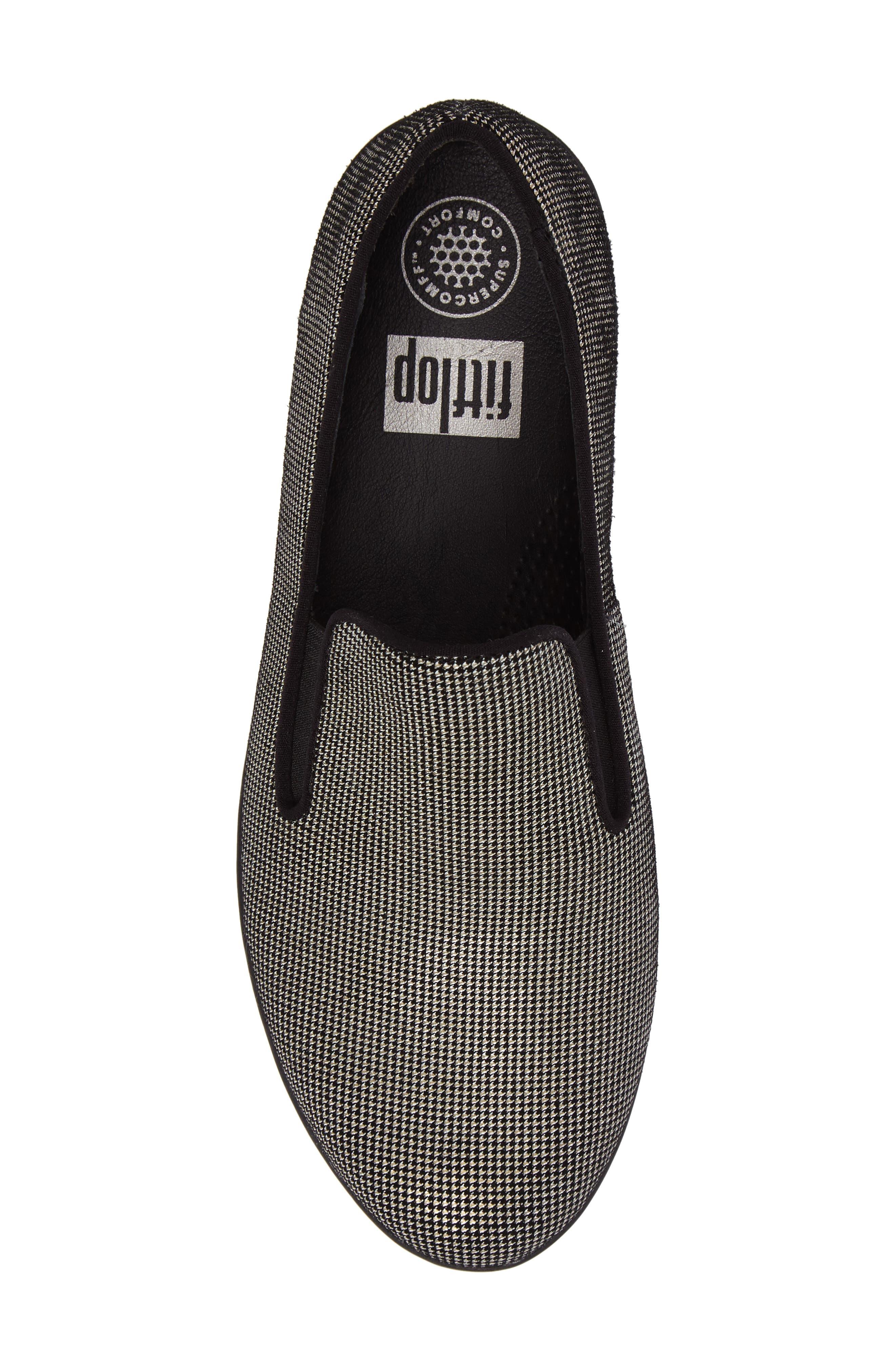 Alternate Image 5  - FitFlop Houndstooth Superskate Sneaker (Women)