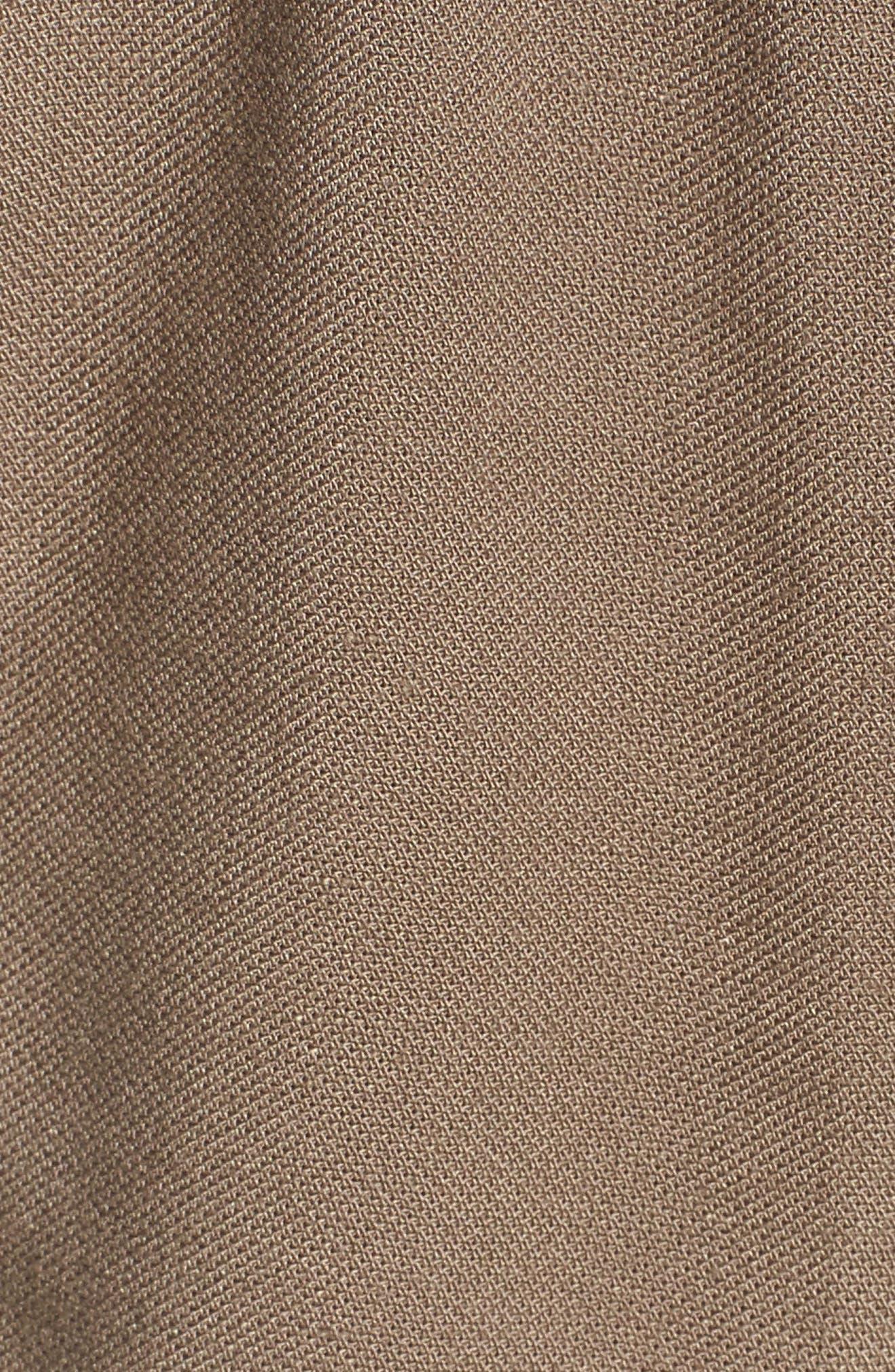 Drawstring Shorts,                             Alternate thumbnail 5, color,                             Brinde Olive