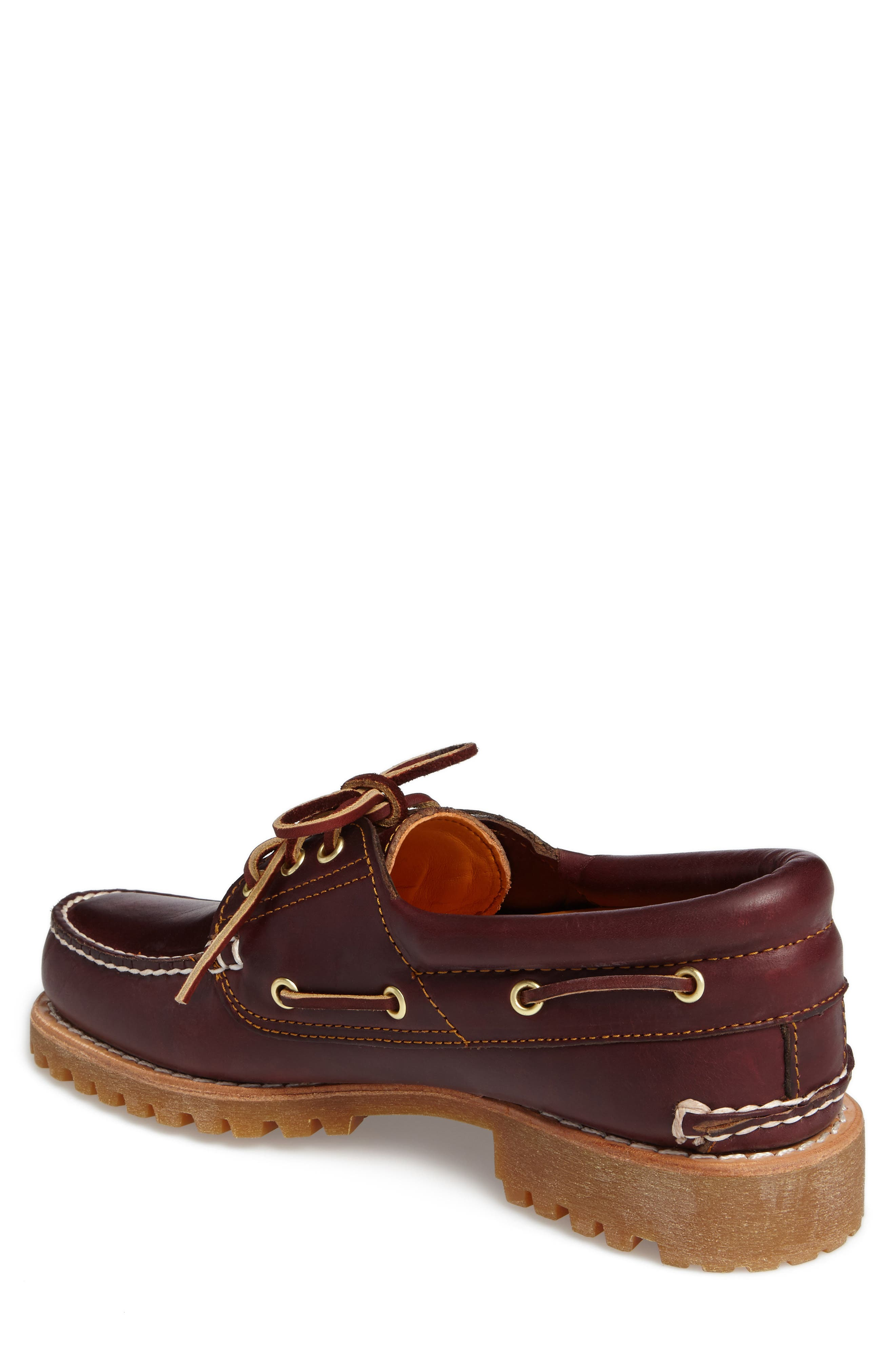 Authentic Boat Shoe,                             Alternate thumbnail 2, color,                             Rootbeer Leather