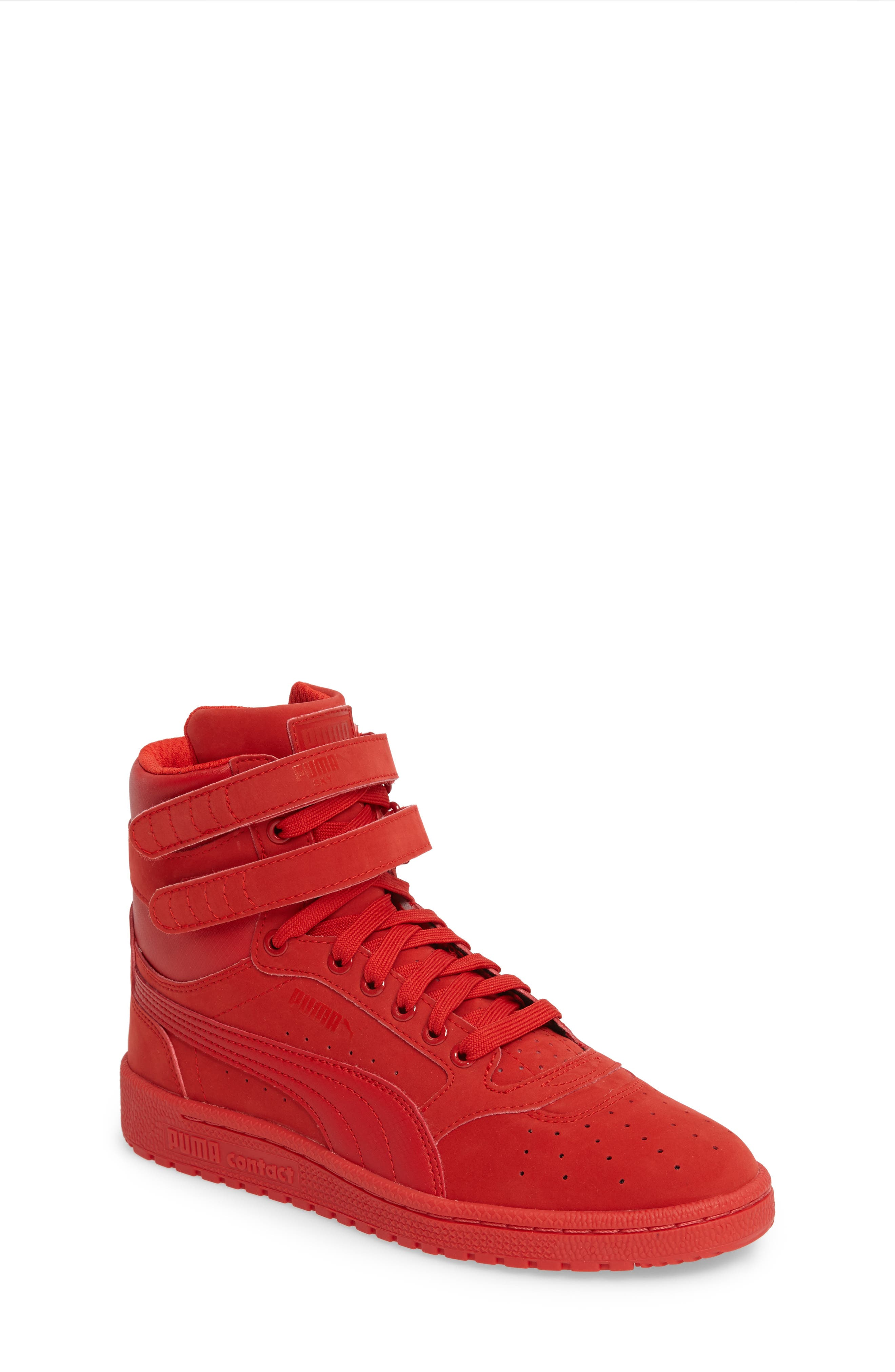 Alternate Image 1 Selected - PUMA Ski II High Top Sneaker (Big Kid)