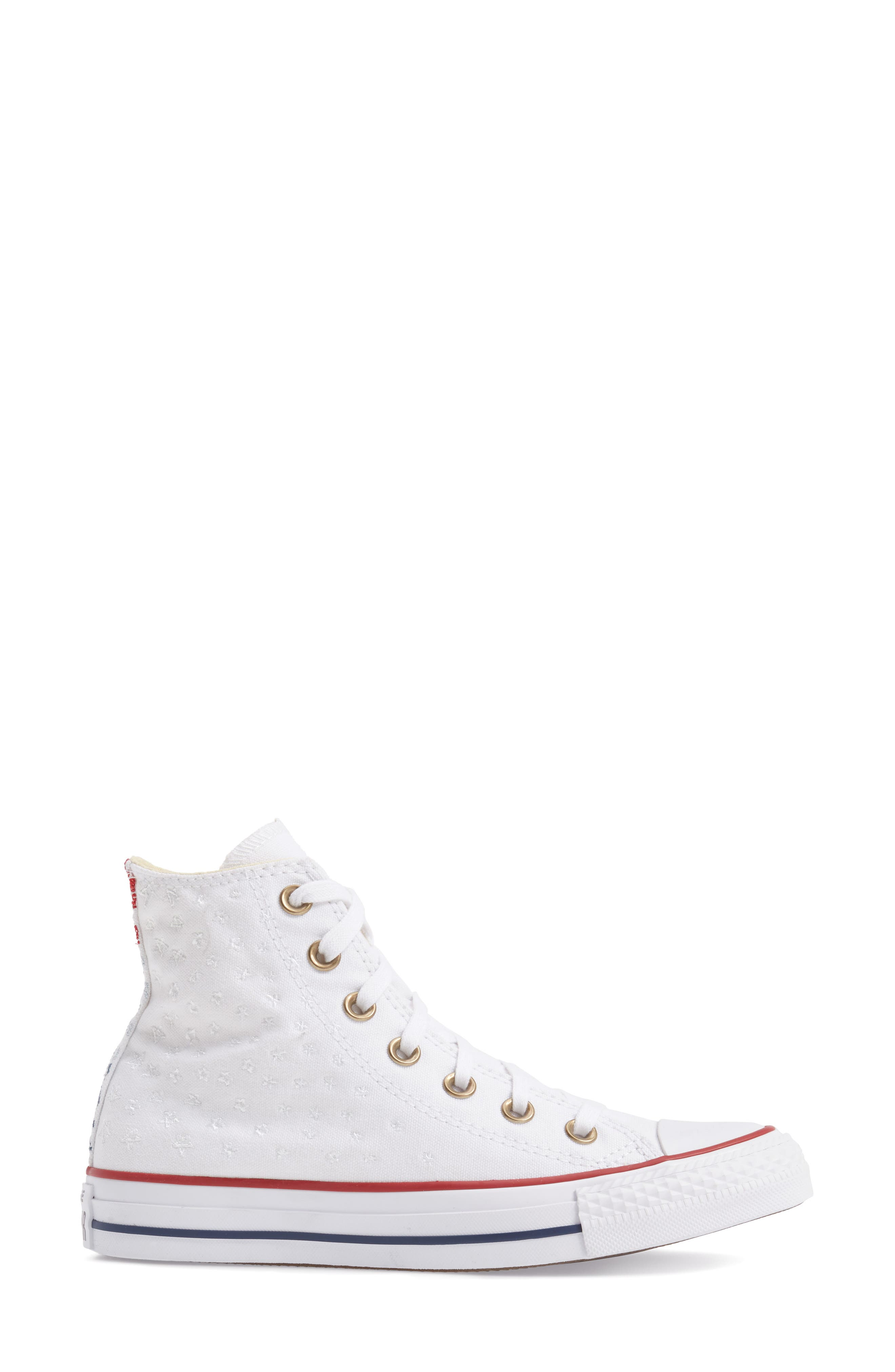 Alternate Image 3  - Converse Chuck Taylor® High Top Sneaker (Women)