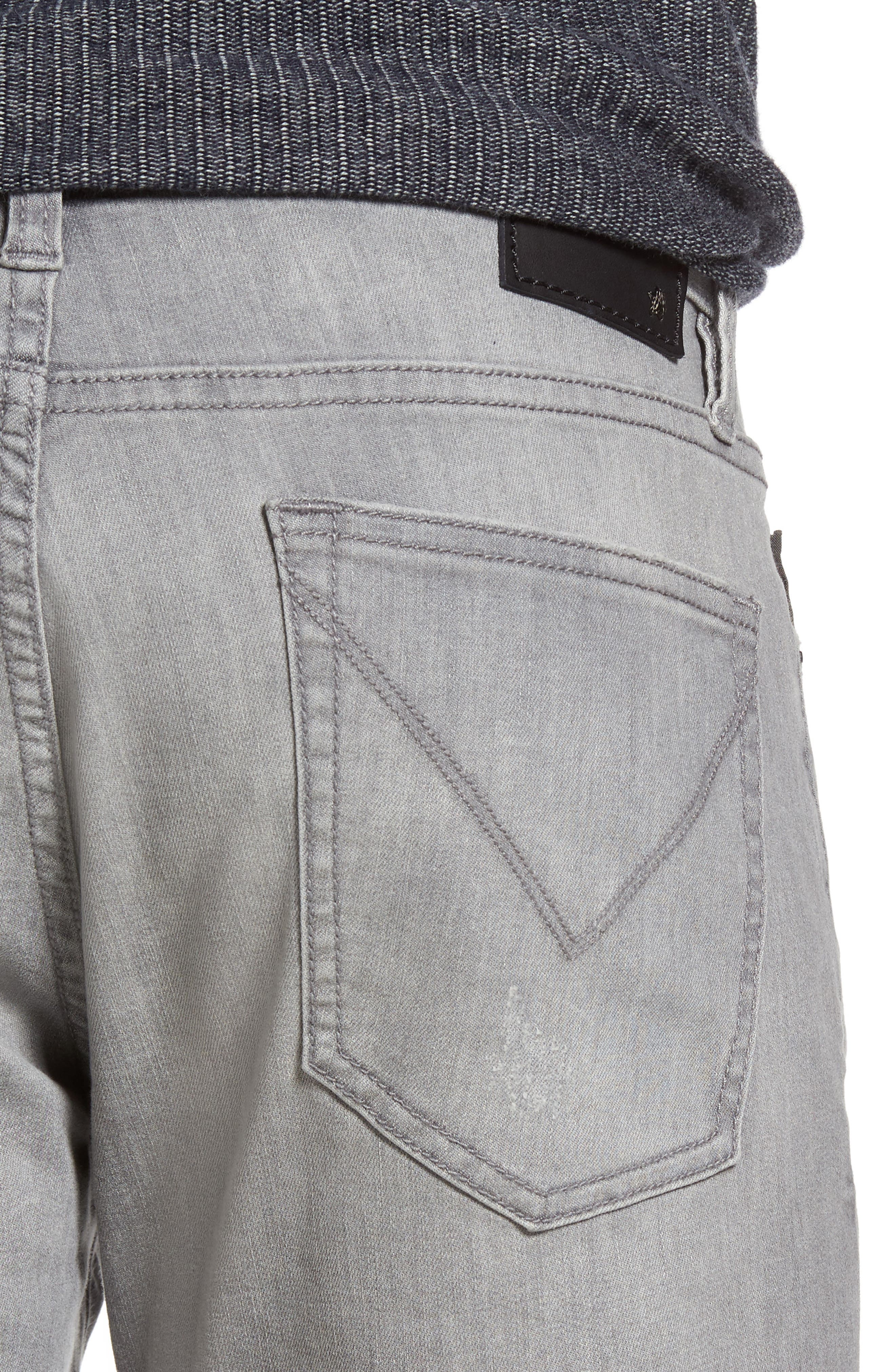 Wight Skinny Jeans,                             Alternate thumbnail 4, color,                             Medium Grey