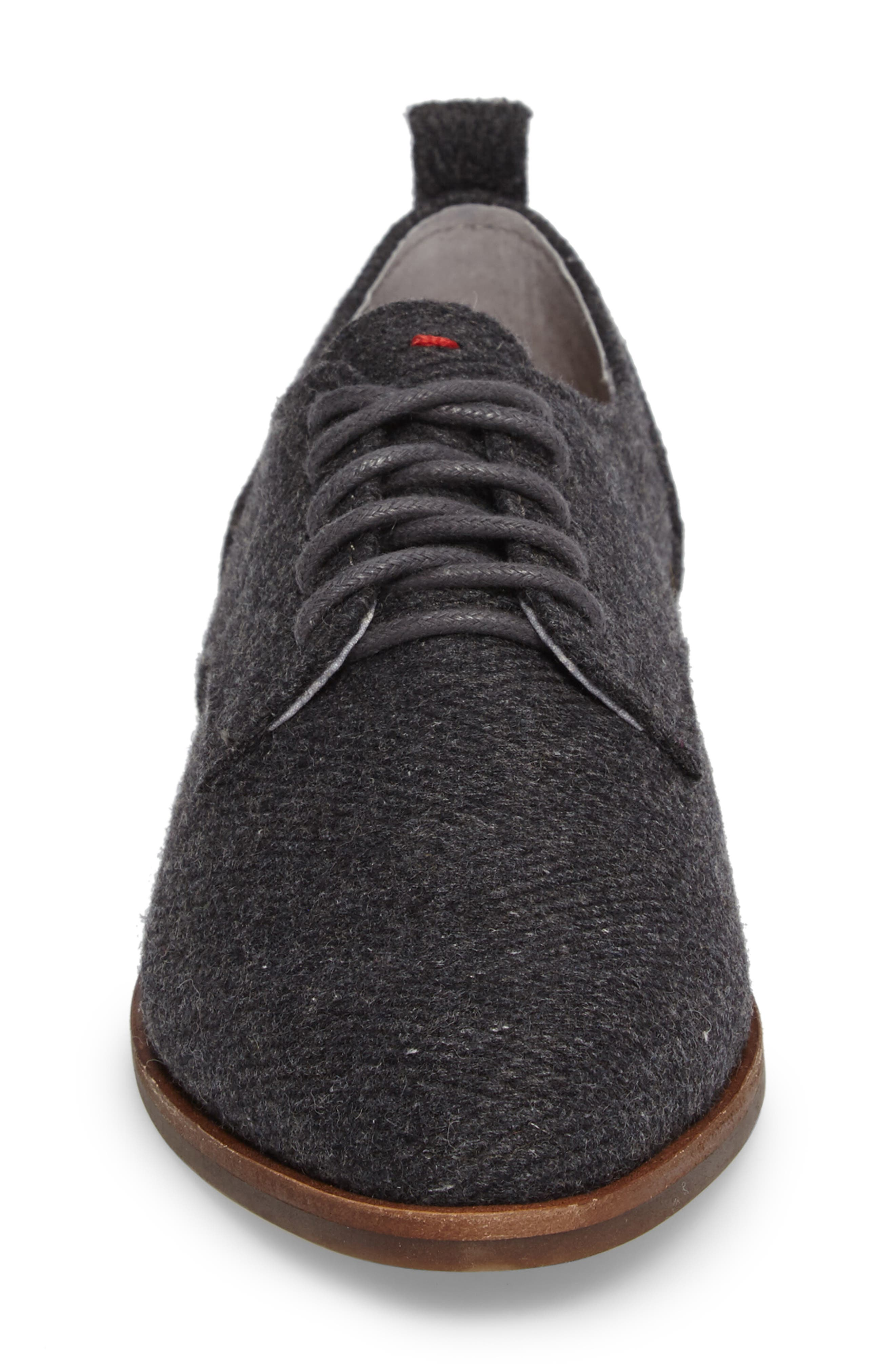 Kerrin Oxford,                             Alternate thumbnail 4, color,                             Grey Fabric