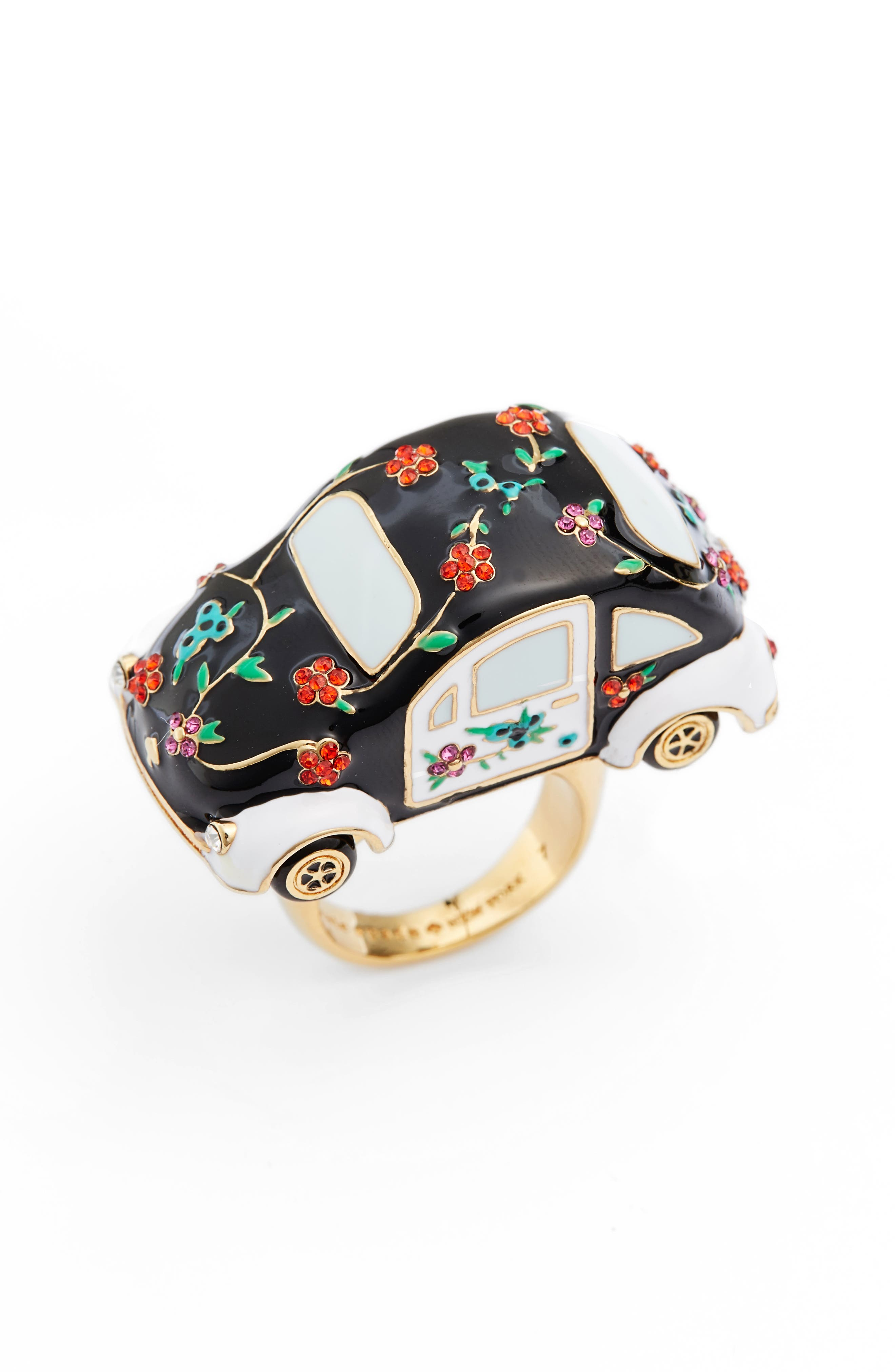 KATE SPADE NEW YORK haute stuff car ring