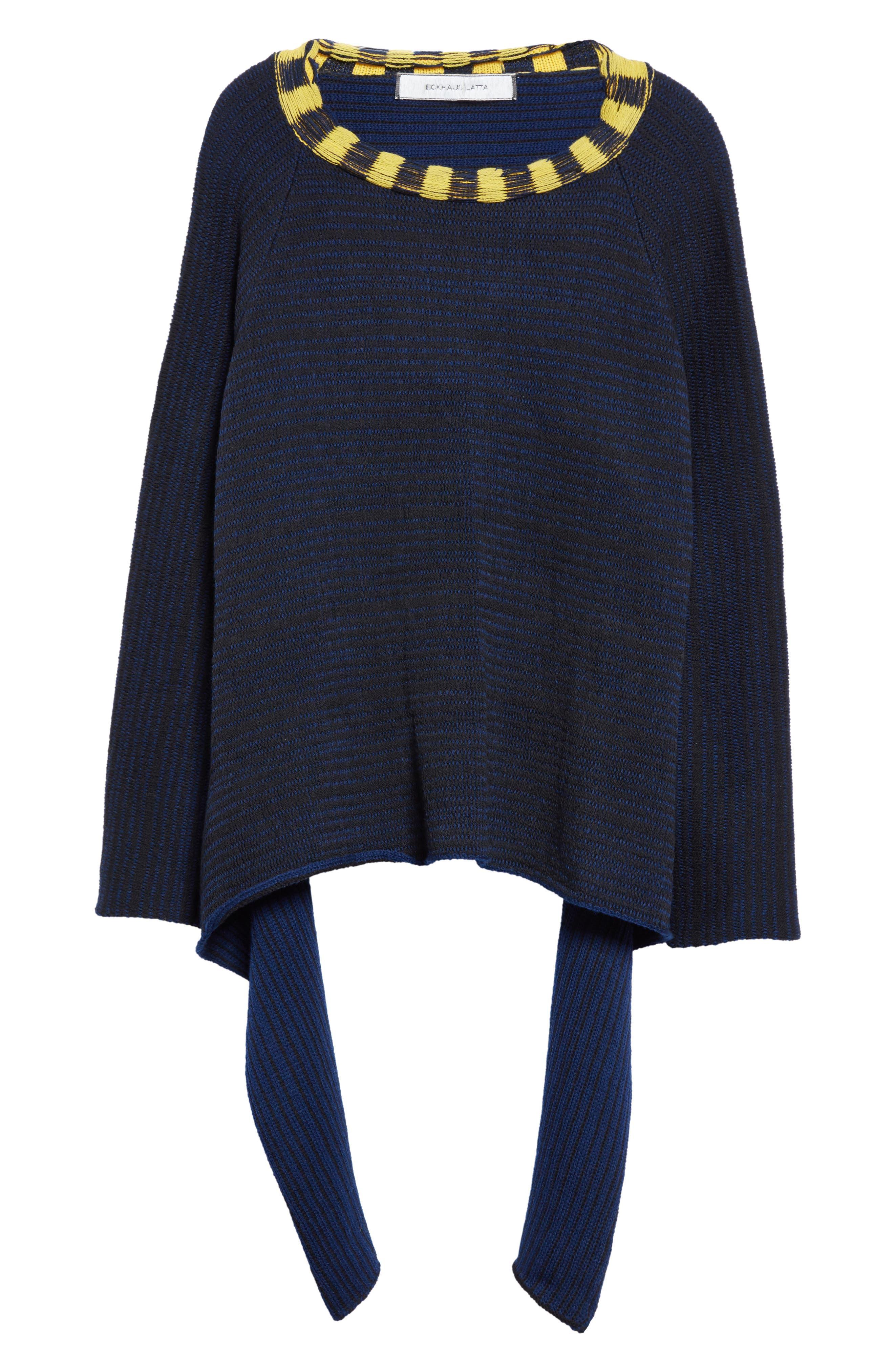 Alternate Image 4  - Eckhaus Latta Tie Back Sweater