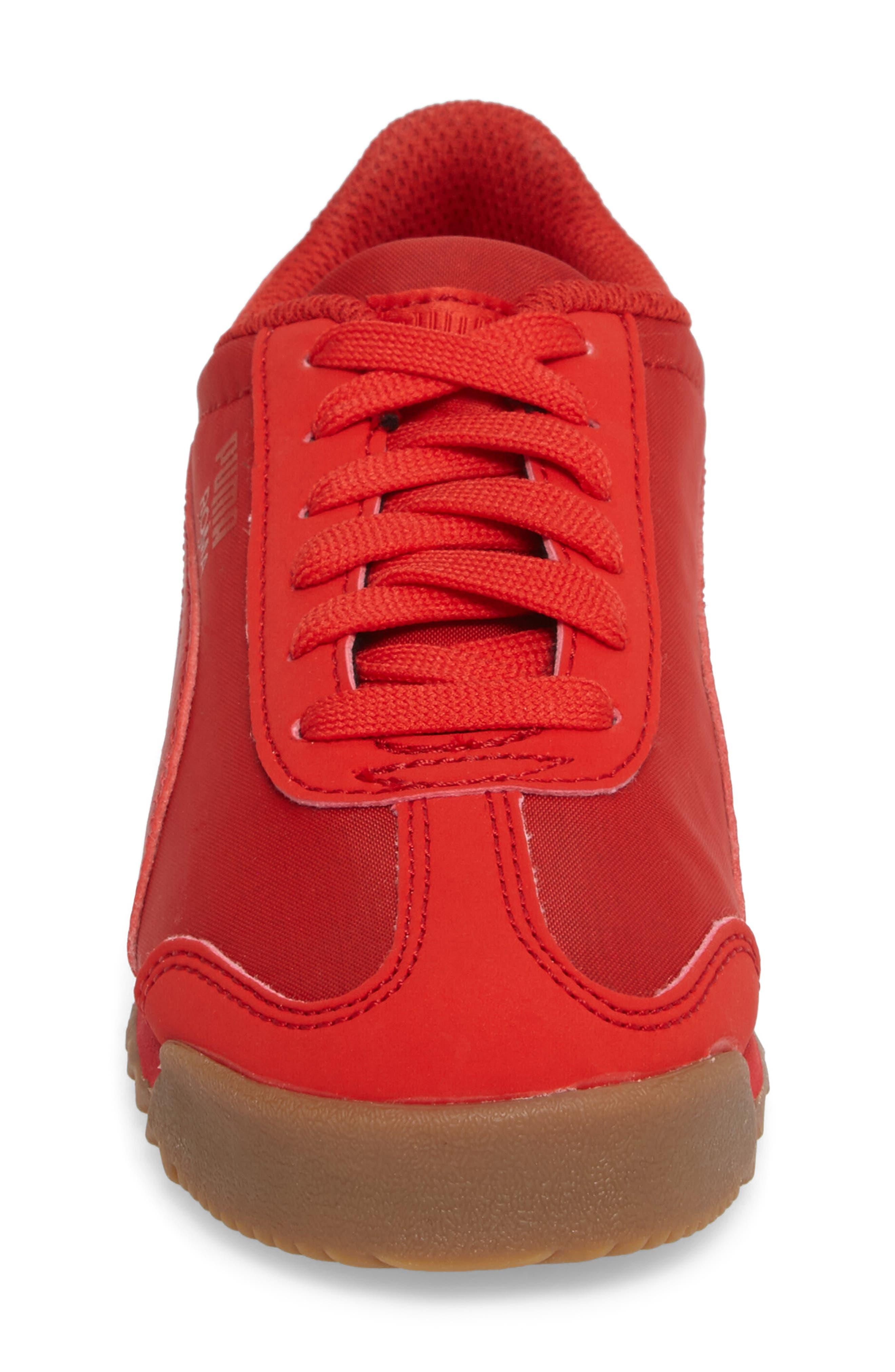 Alternate Image 4  - Puma Roma Basic Summer Sneaker (Toddler, Little Kid & Big Kid)