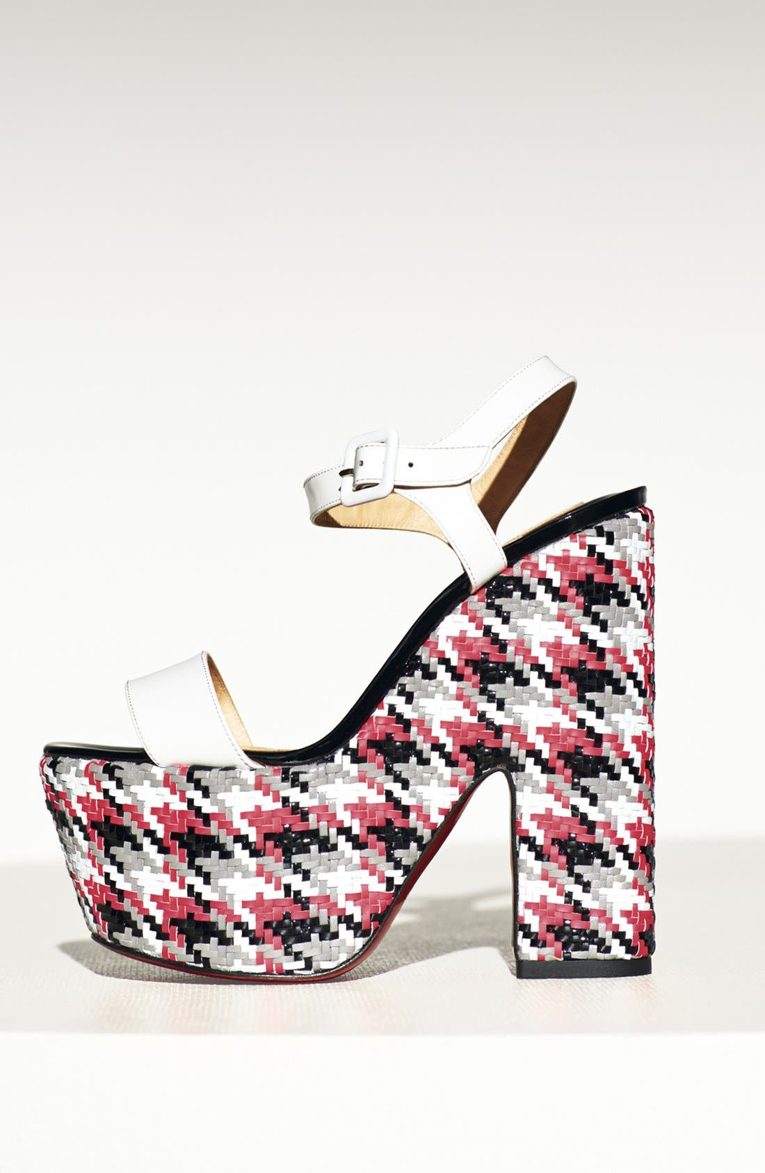 Alternate Image 4  - Christian Louboutin 'Bella' Plaid Platform Sandal