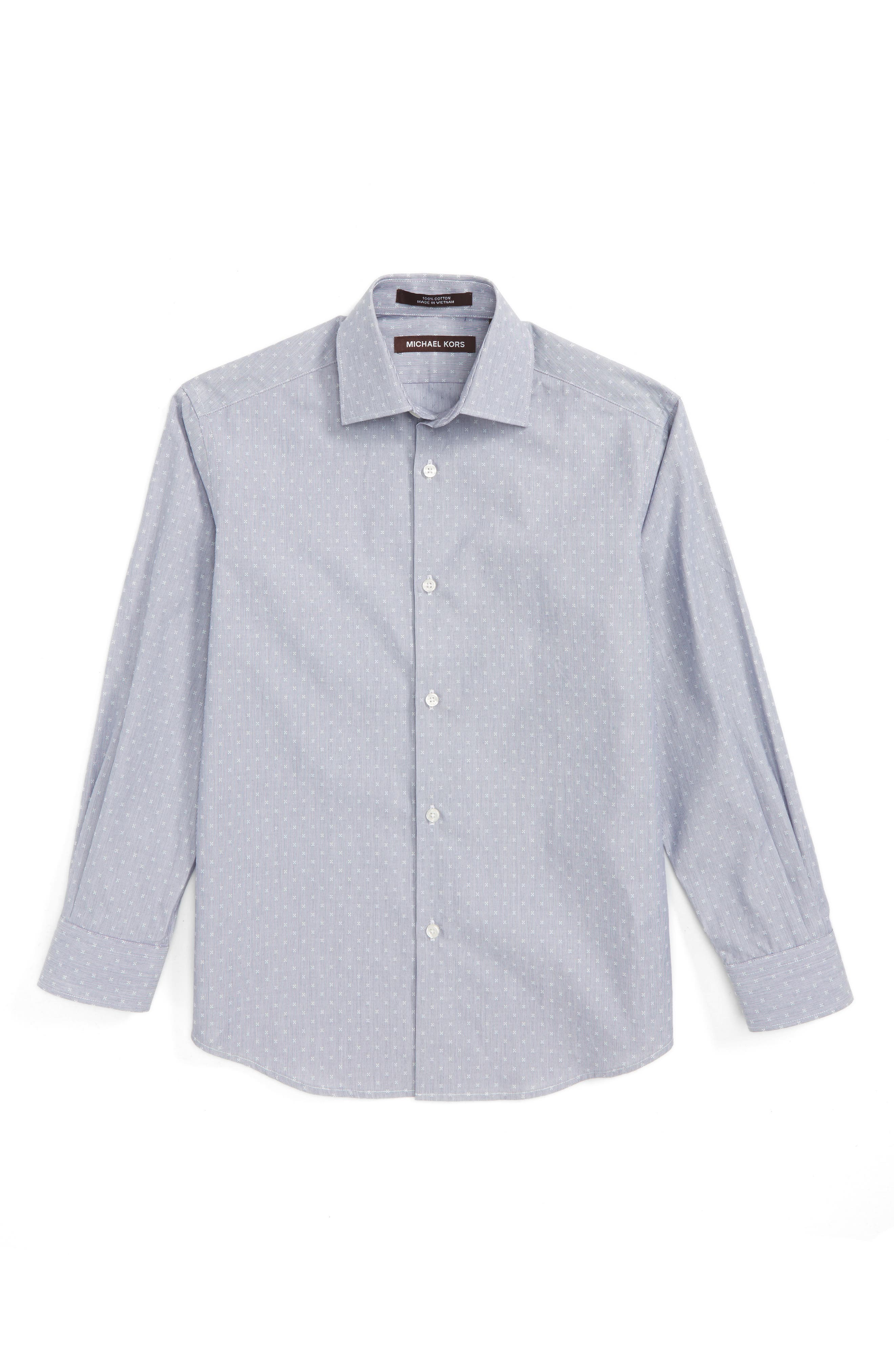 MICHAEL KORS Stripe Neat Dress Shirt