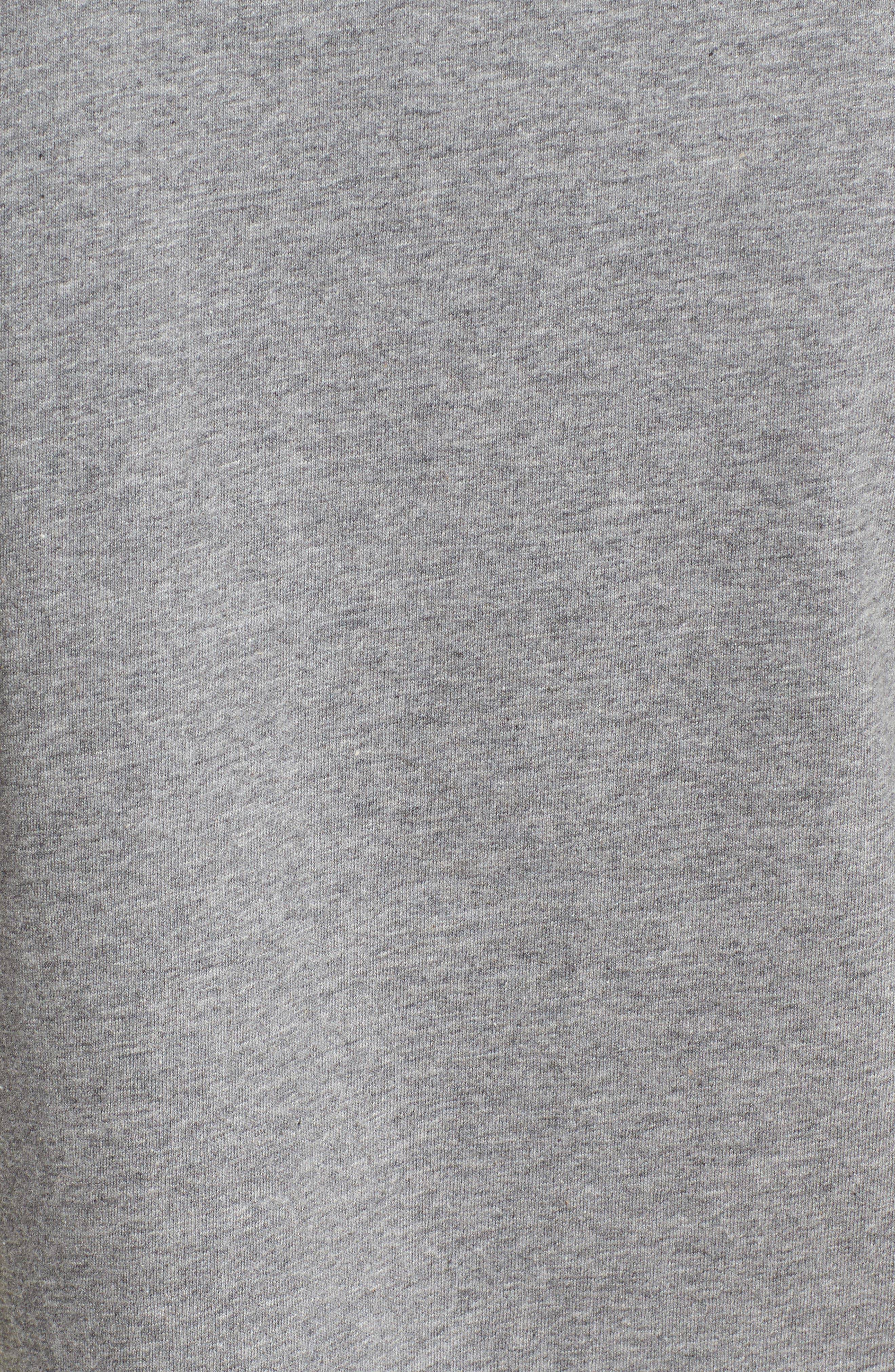 être cécile On Tour Tee,                             Alternate thumbnail 5, color,                             Medium Grey Marled