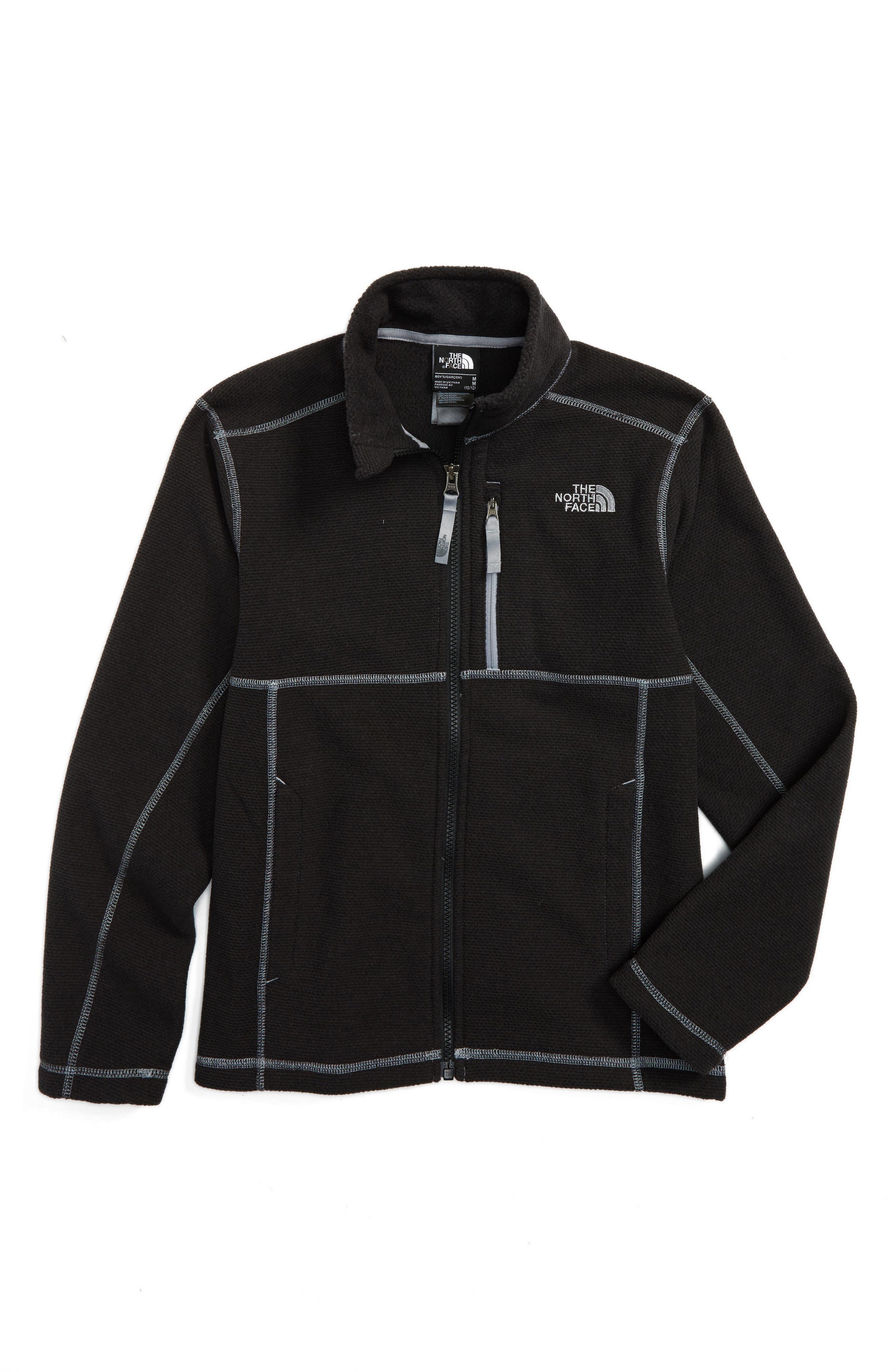 Alternate Image 1 Selected - The North Face Cap Rock Fleece Jacket (Big Boys)