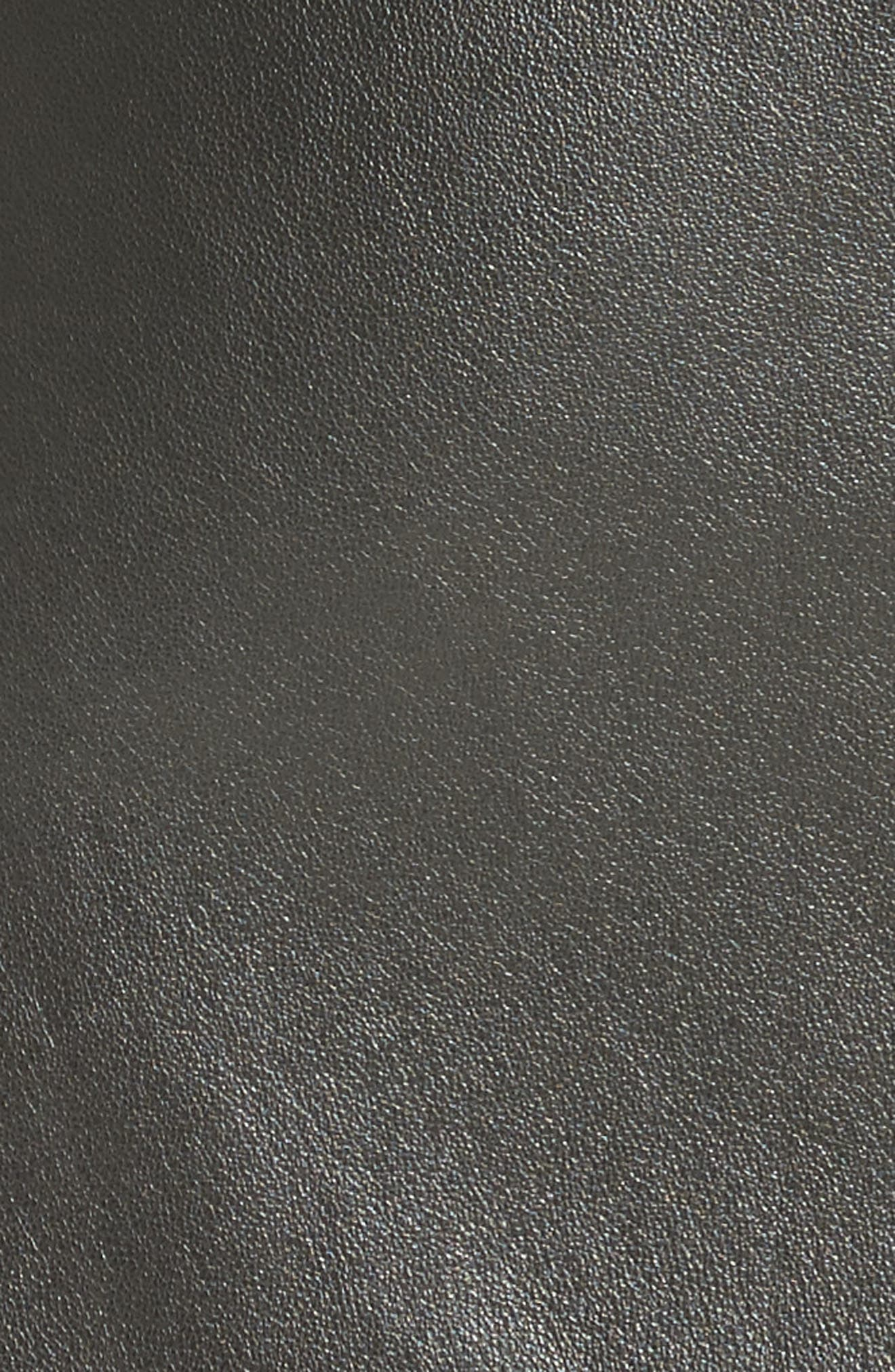Alternate Image 2  - Alexander Wang Snap Leather Miniskirt