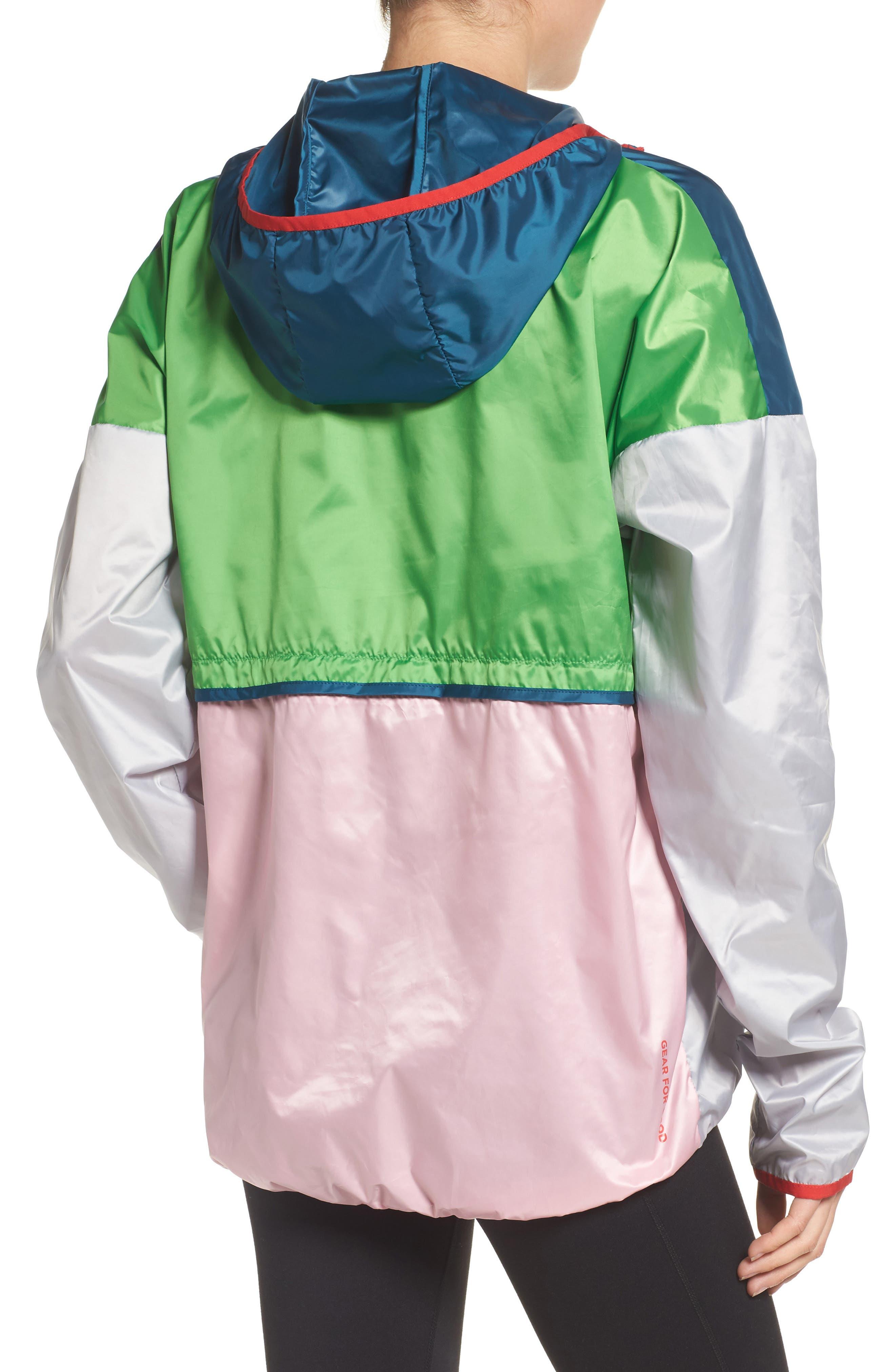 Teca Packable Water Resistant Windbreaker Jacket,                             Alternate thumbnail 2, color,                             Freshy Fresh