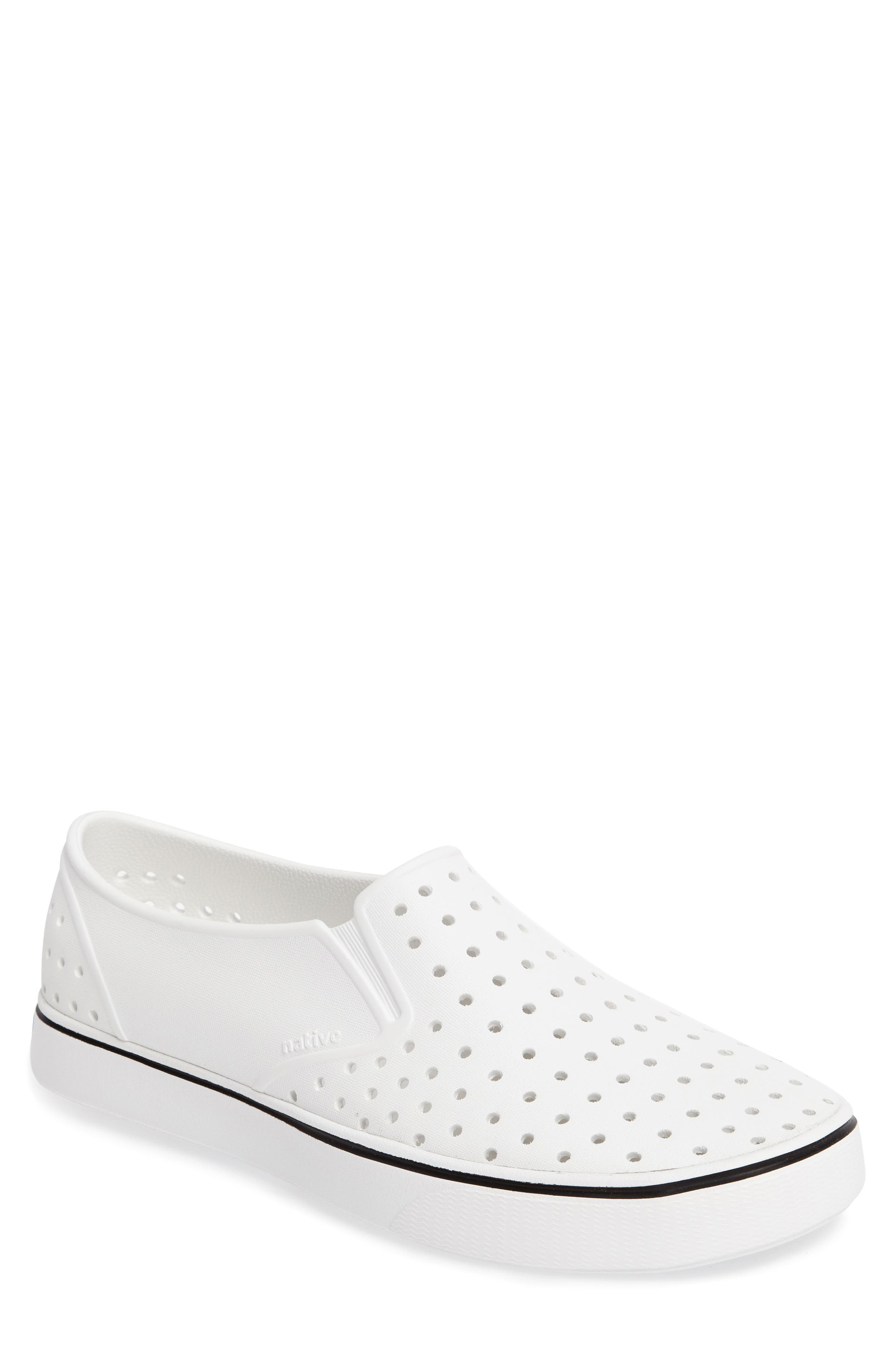 Native Shoes Miles Water Friendly Perforated SlipOn Men