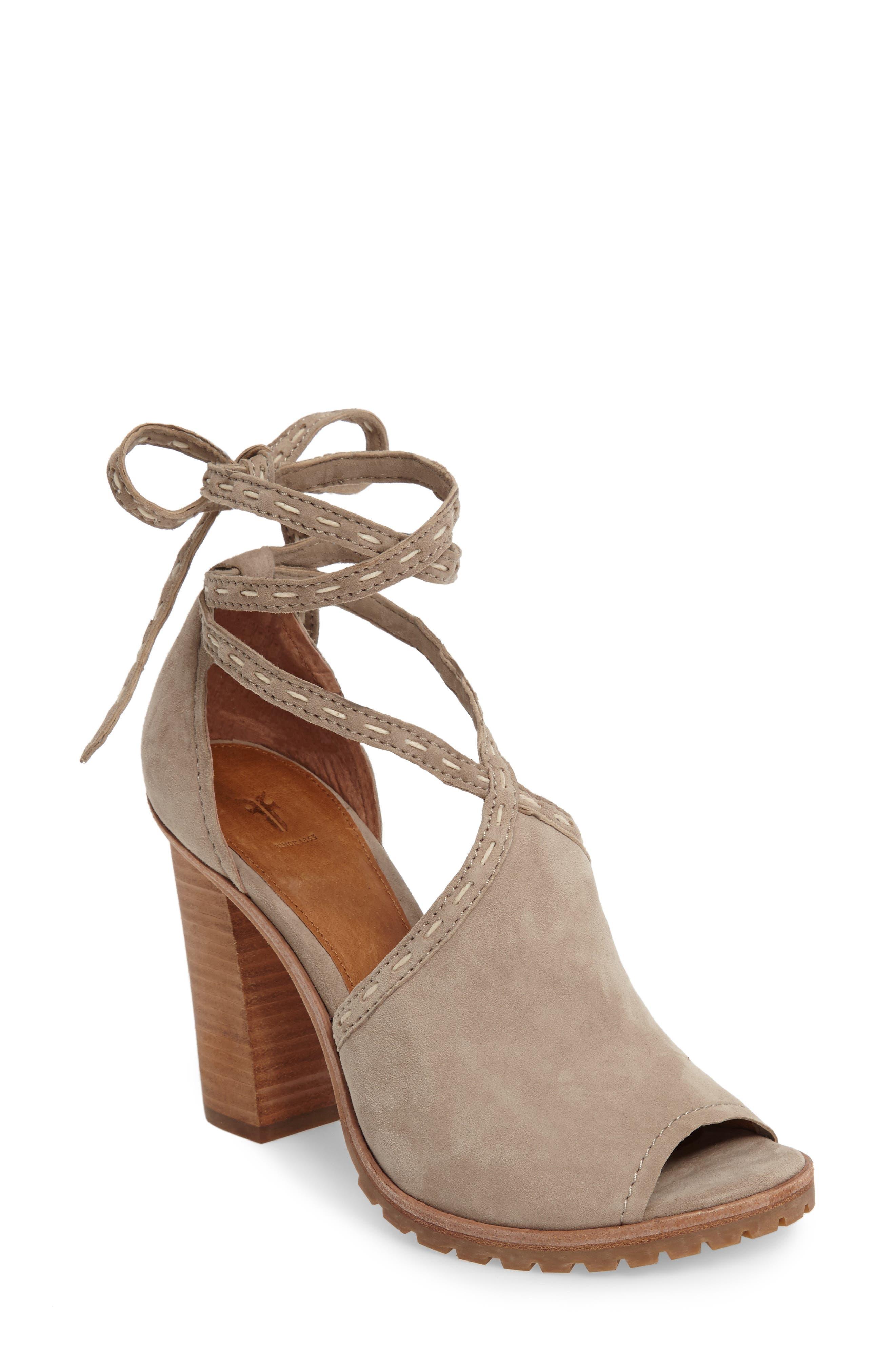 Alternate Image 1 Selected - Frye Suzie Wraparound Sandal (Women)
