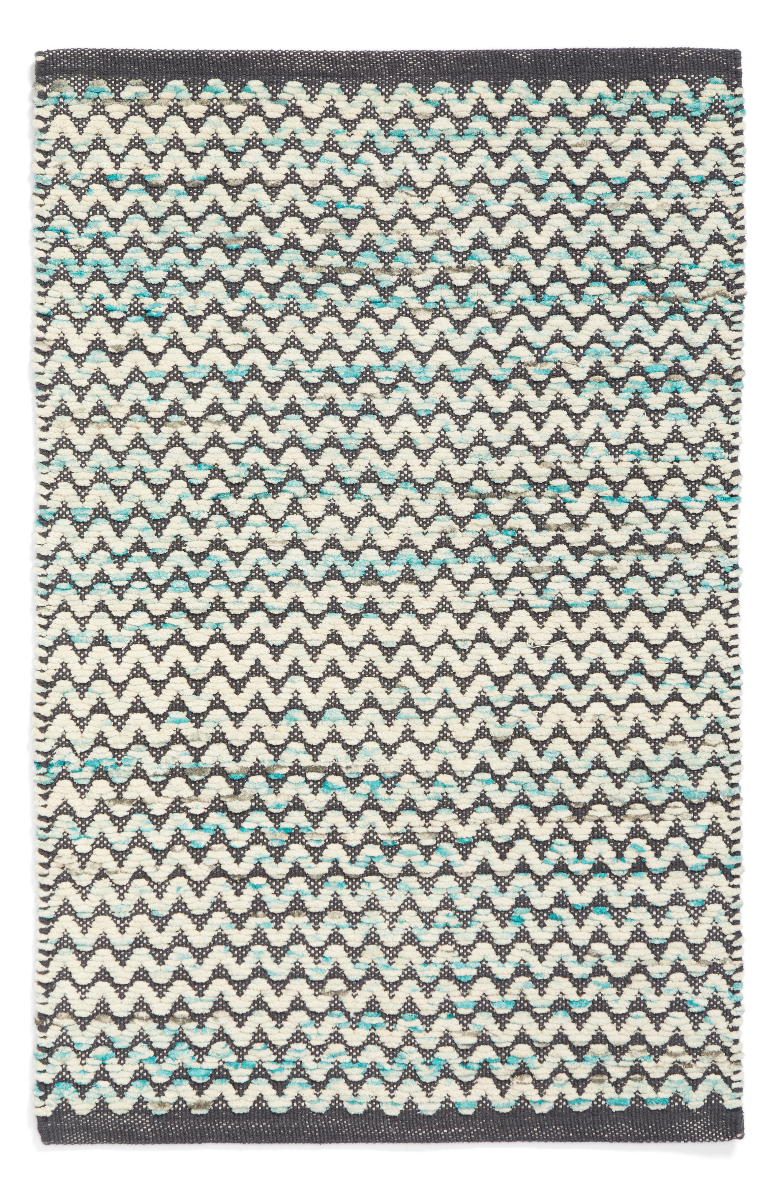 Alternate Image 1 Selected - Nordstrom at Home Chevron Handwoven Area Rug