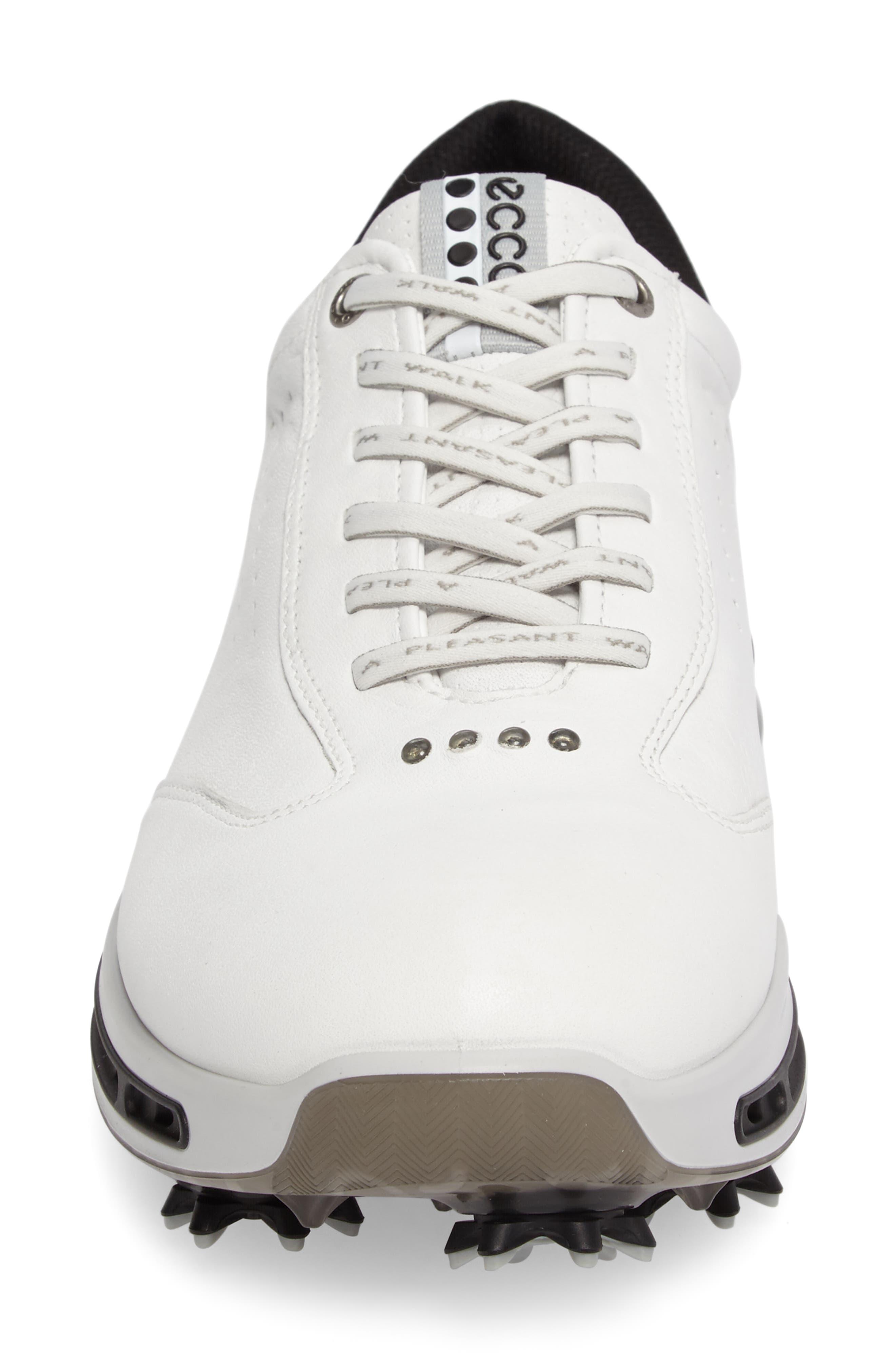 Cool GTX Golf Shoe,                             Alternate thumbnail 4, color,                             White/ Black