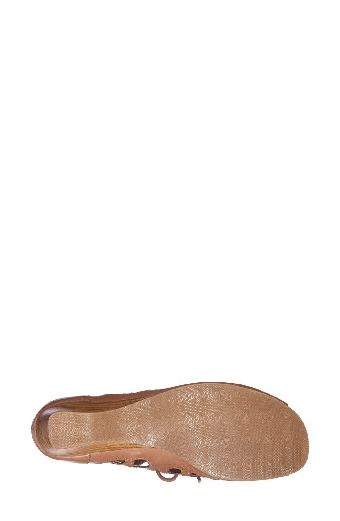 Alternate Image 4  - Bella Vita 'Pixie' Lace Up Cutout Leather Sandal