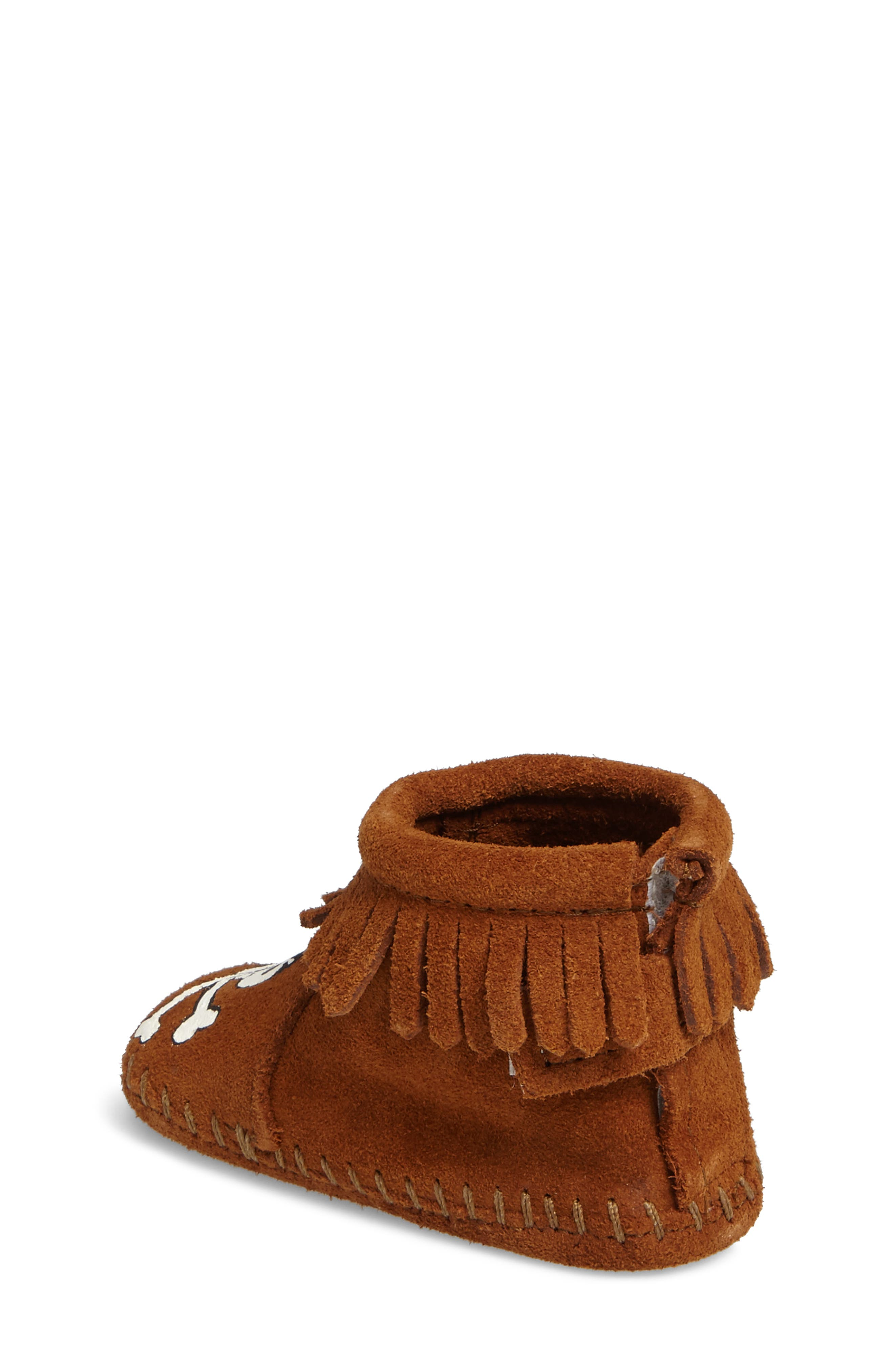 x Free Range Mama Sail into the Mystic Bootie,                             Alternate thumbnail 2, color,                             Brown Suede