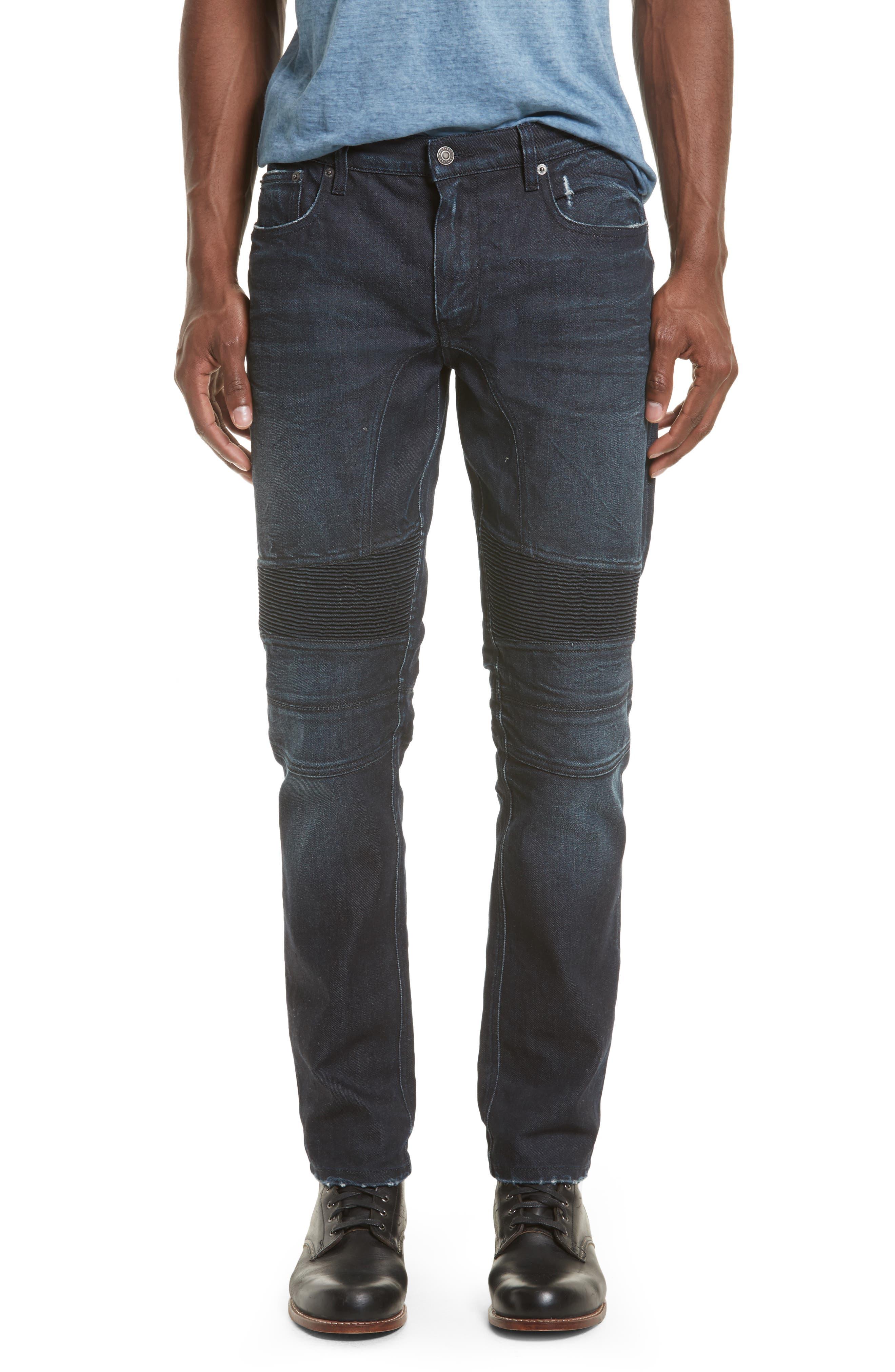 Main Image - Belstaff Eastham Washed Moto Jeans