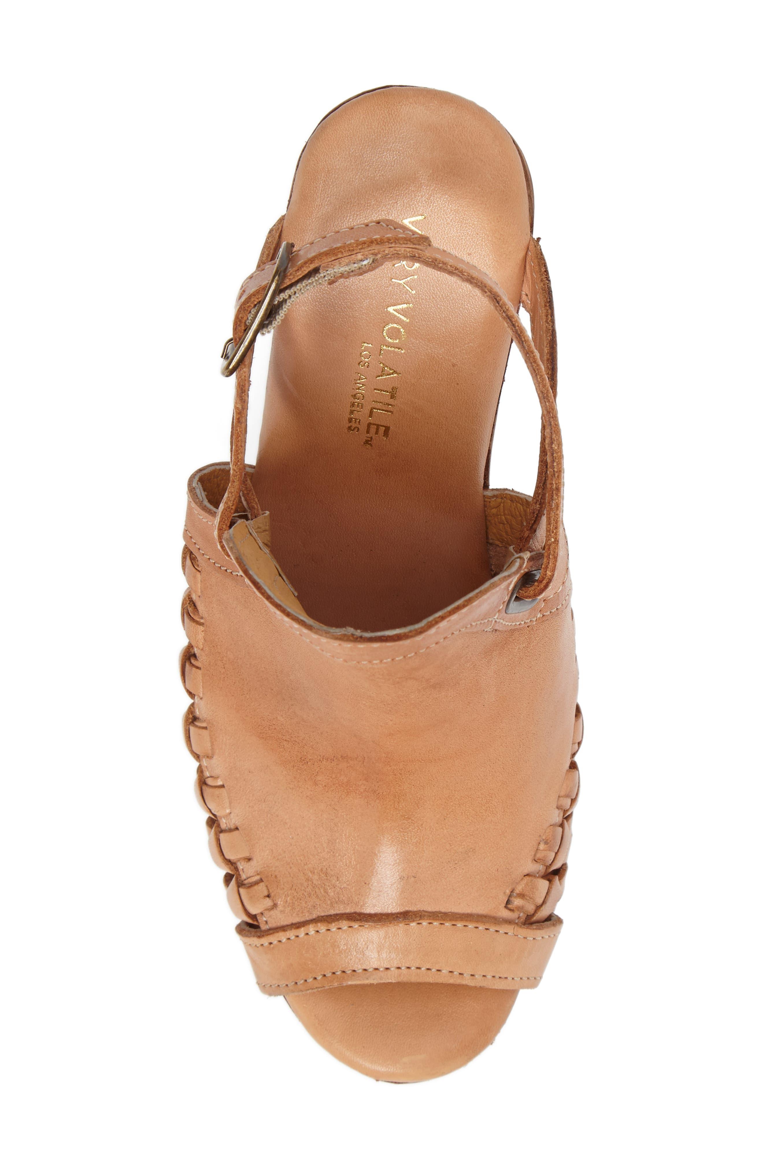 Alternate Image 5  - Very Volatile Carry Wedge Sandal (Women)