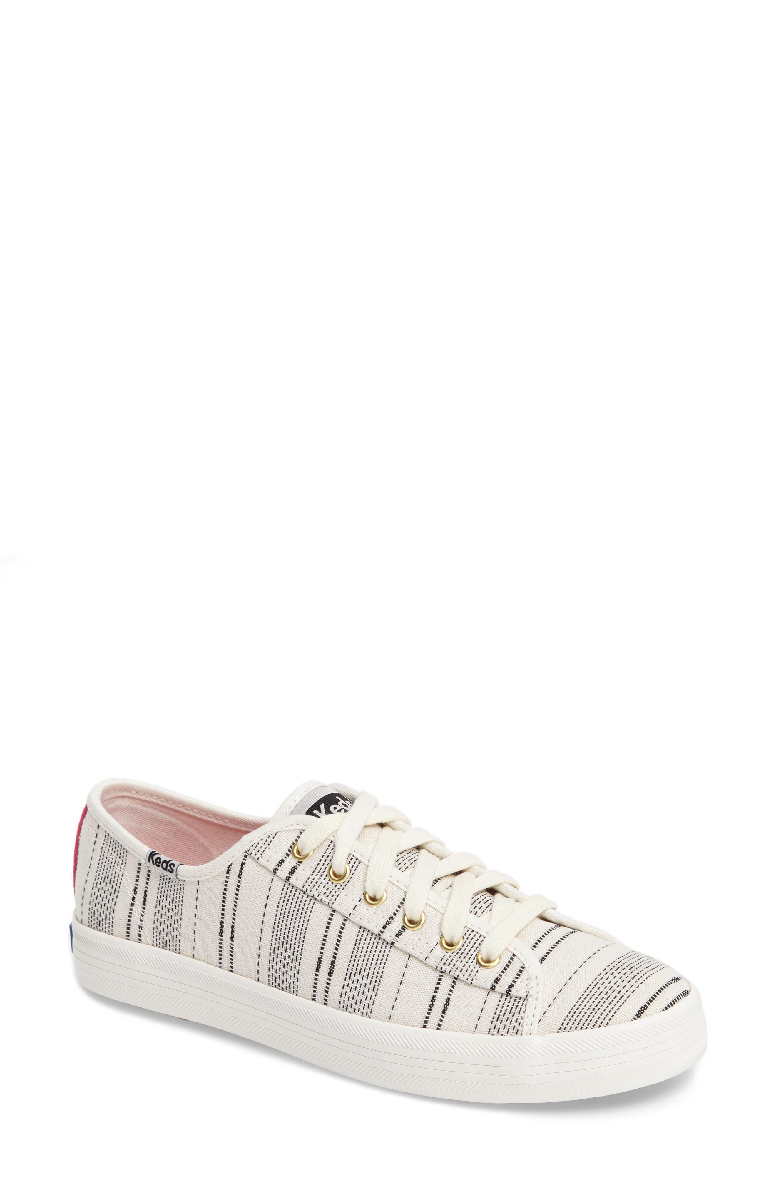 Kickstart Baja Stripe Sneaker,                         Main,                         color, Cream