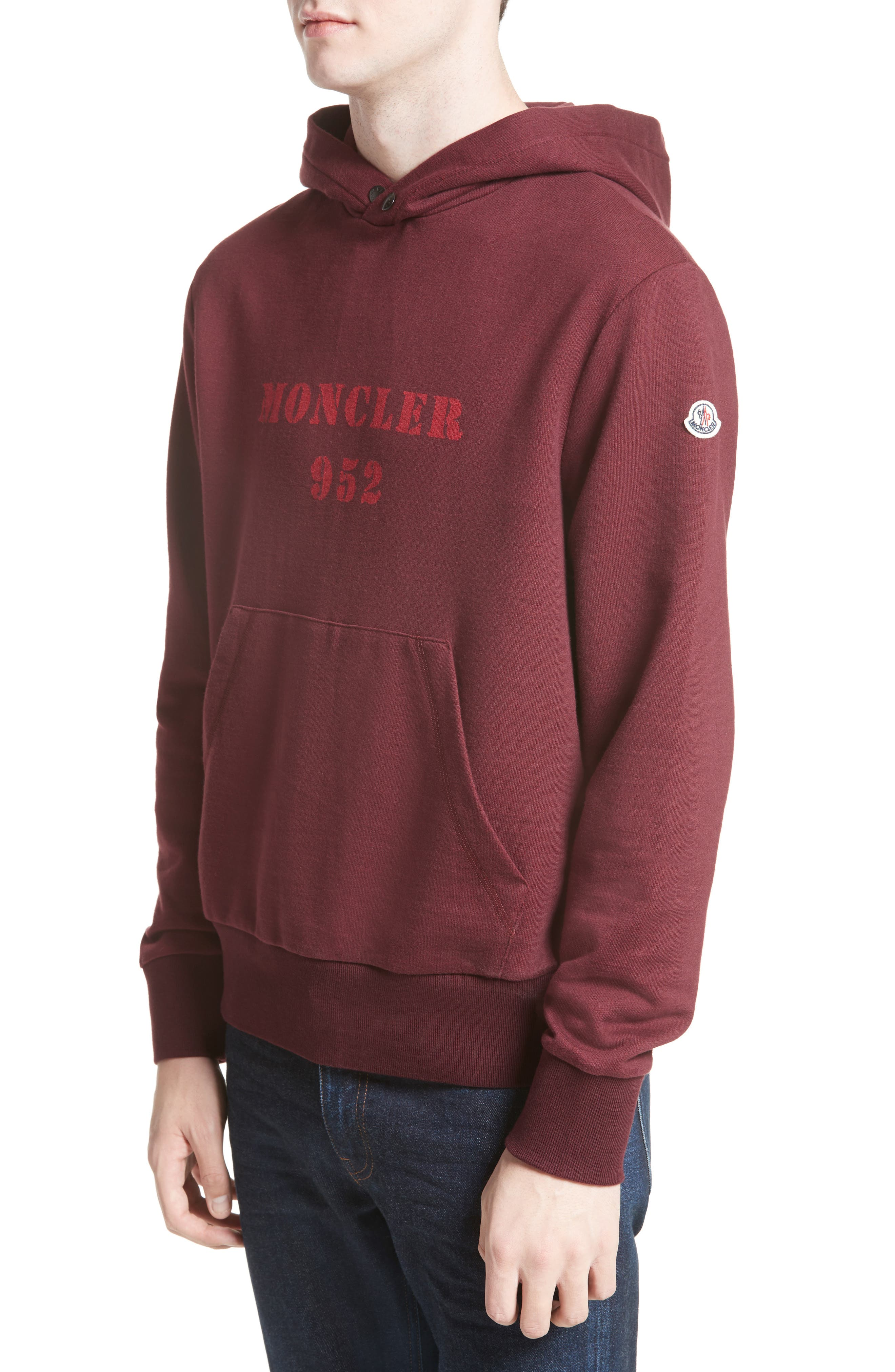 Moncler Logo Graphic Hoodie