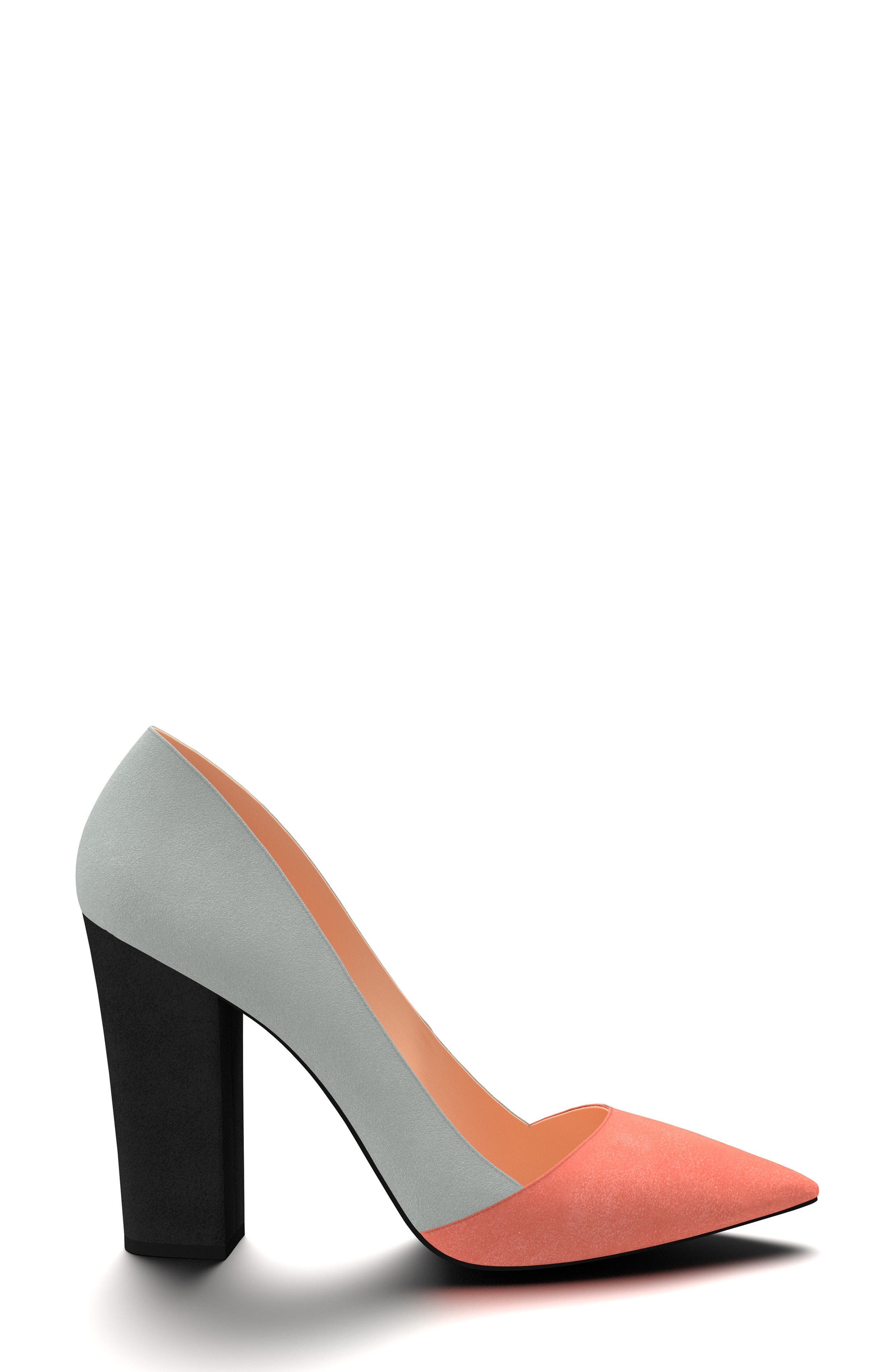 Alternate Image 2  - Shoes of Prey Block Heel Pump (Women)