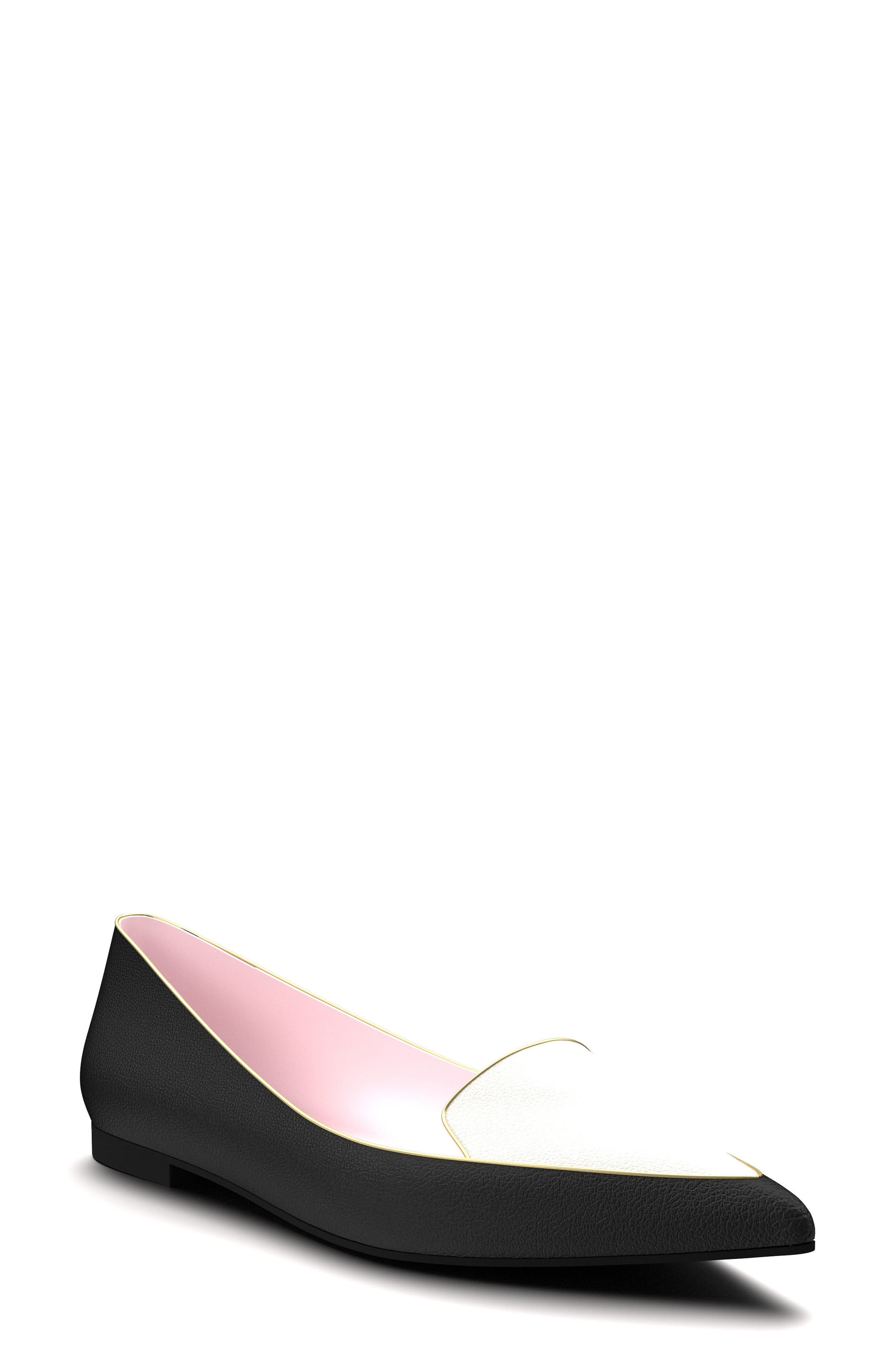 Shoes of Prey The Generation Collection Pointy Toe Flat (Women)