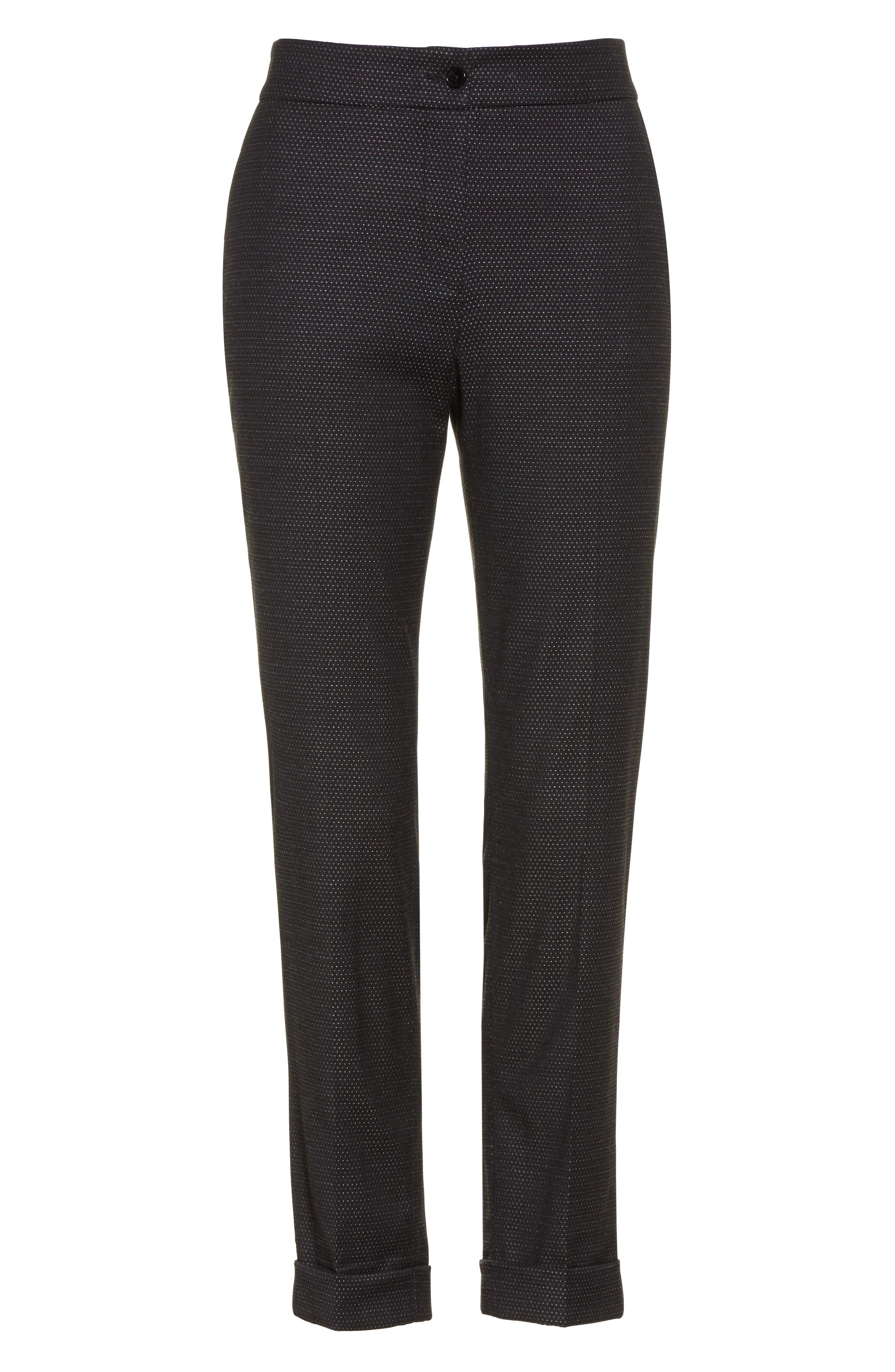 Alternate Image 4  - Etro Dot Wool Blend Crop Pants