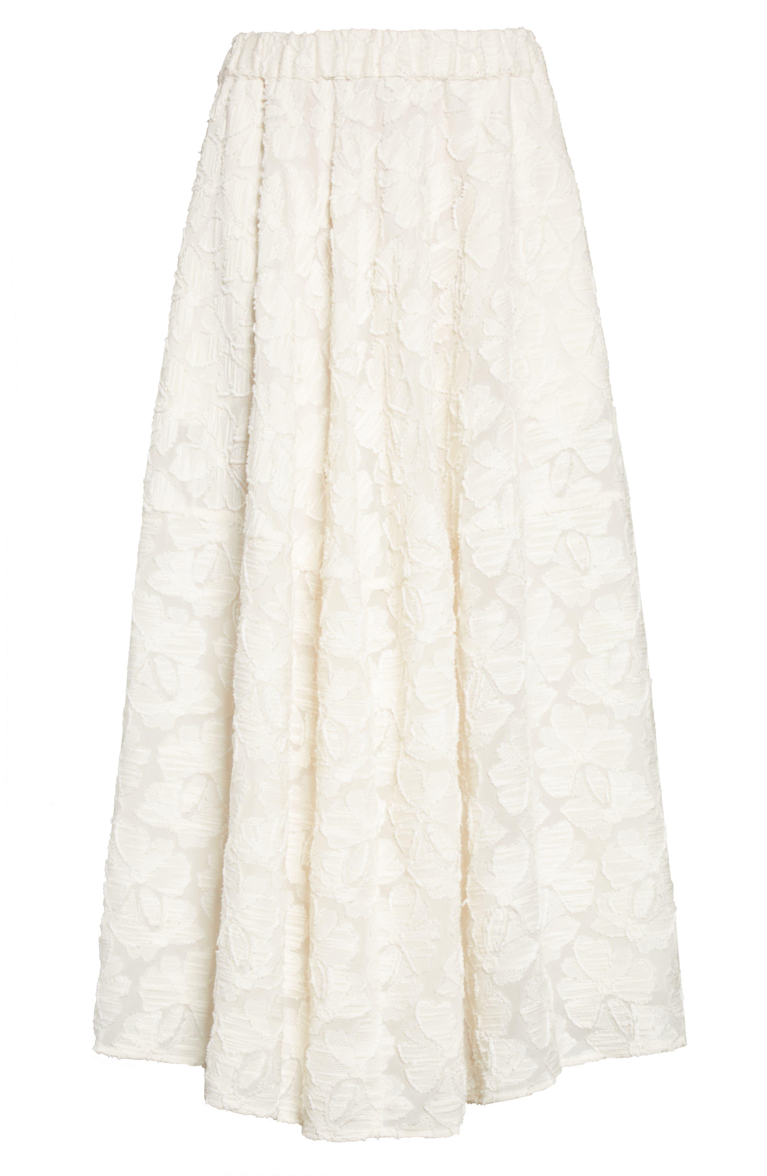 Alternate Image 4  - Co Pleated Fil Coupé Midi Skirt