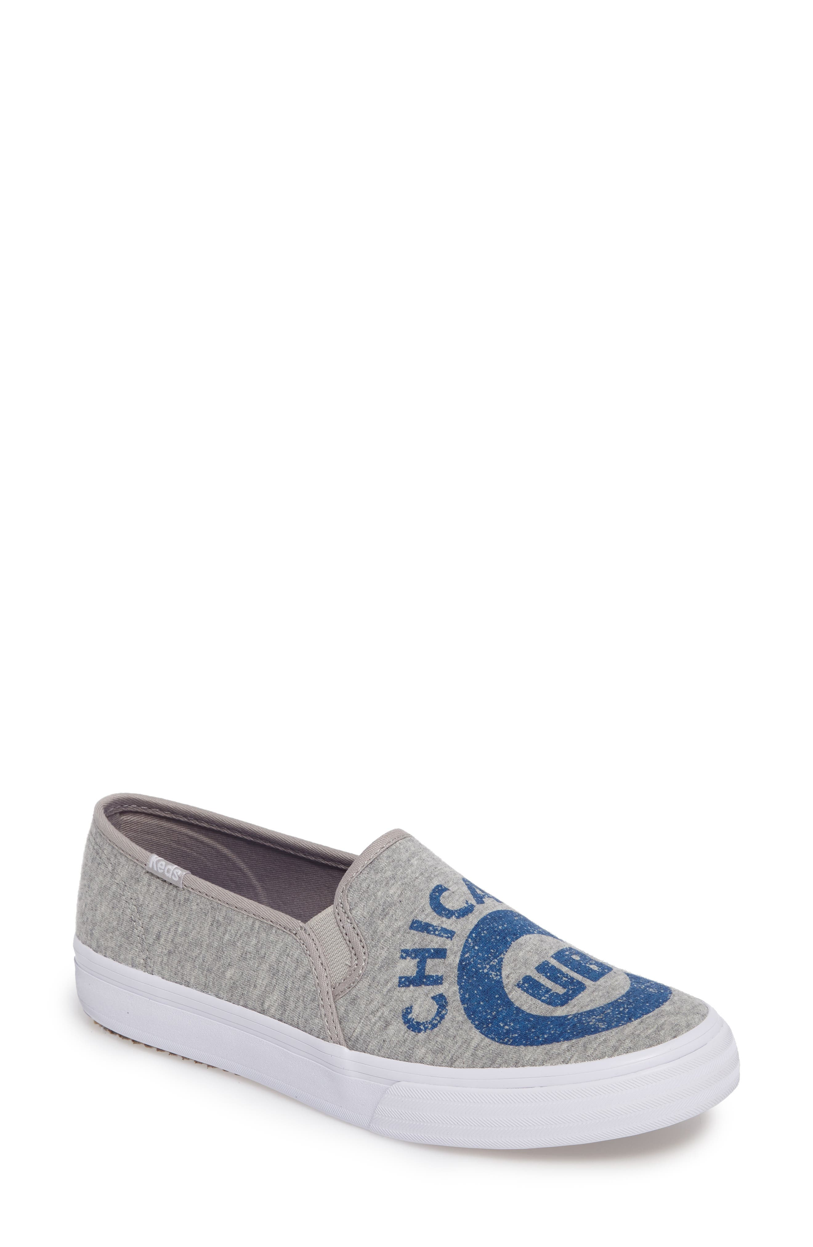 Keds Double Decker Baseball Team Jersey Slip-On Sneakers (Women)
