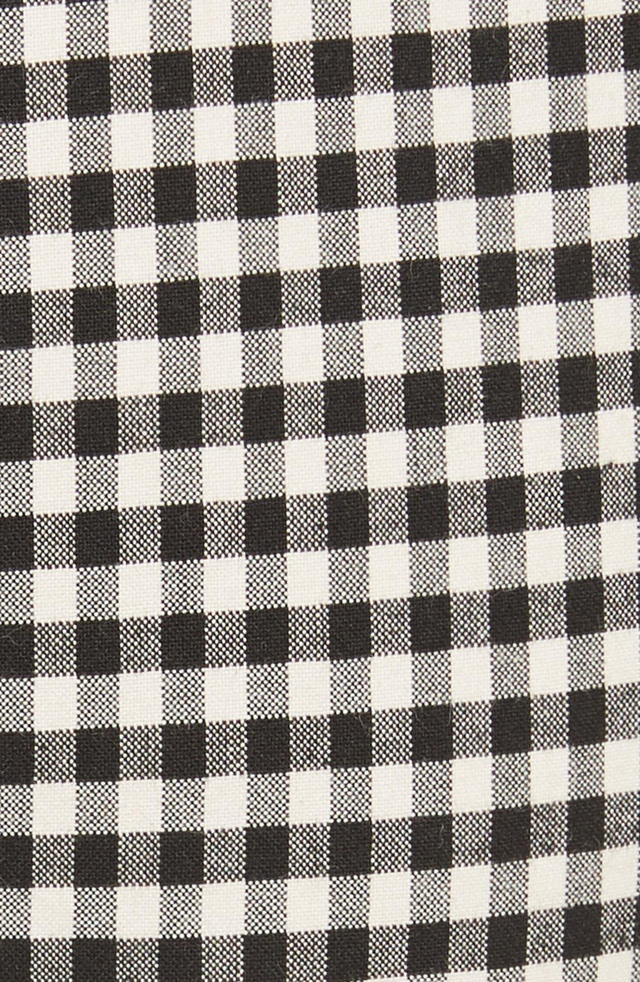 Alternate Image 5  - Veronica Beard Tee High Waisted Seam Trousers
