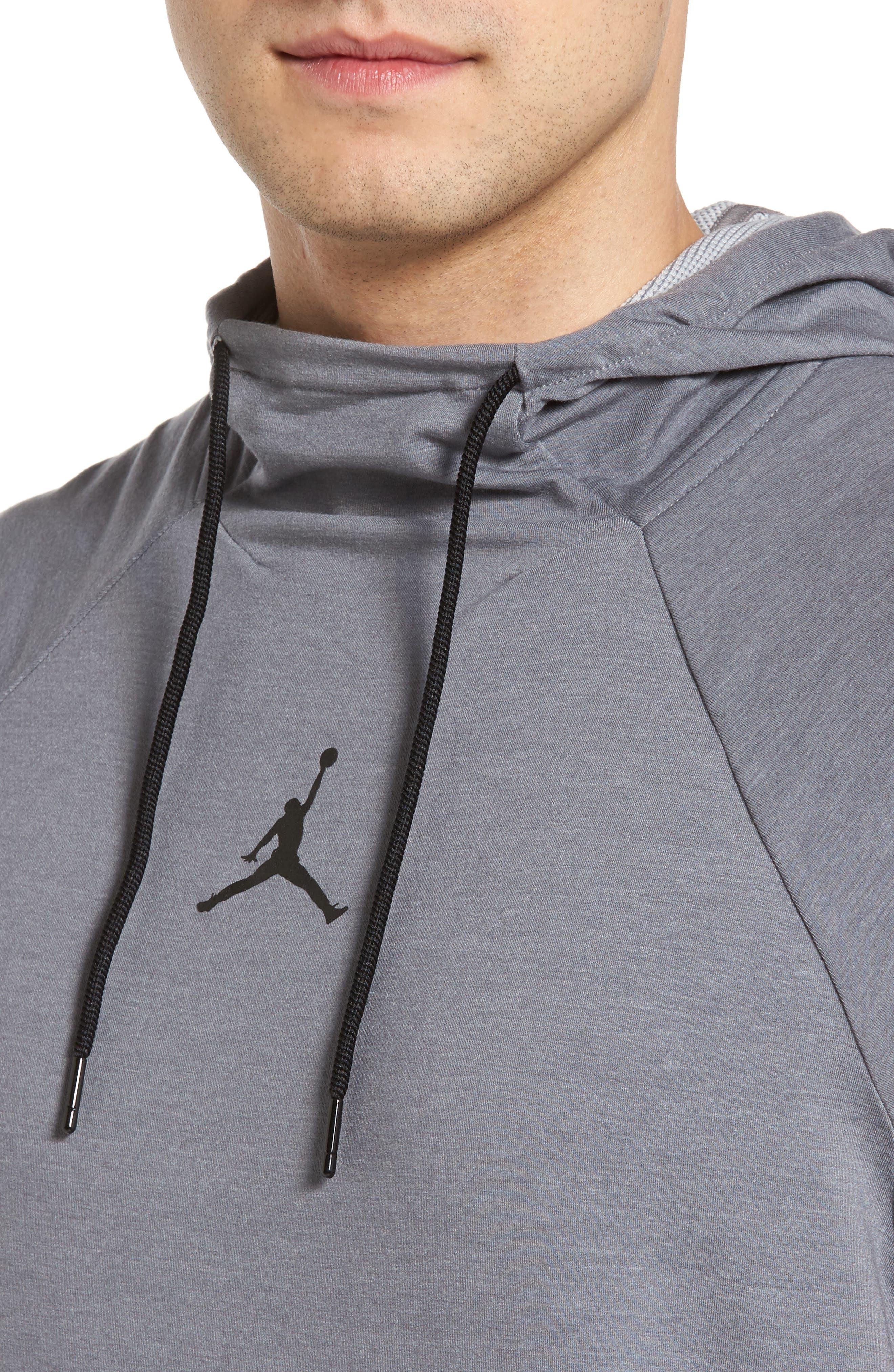 Alternate Image 4  - Nike Jordan 23 Tech Sphere Sleeveless Training Hoodie