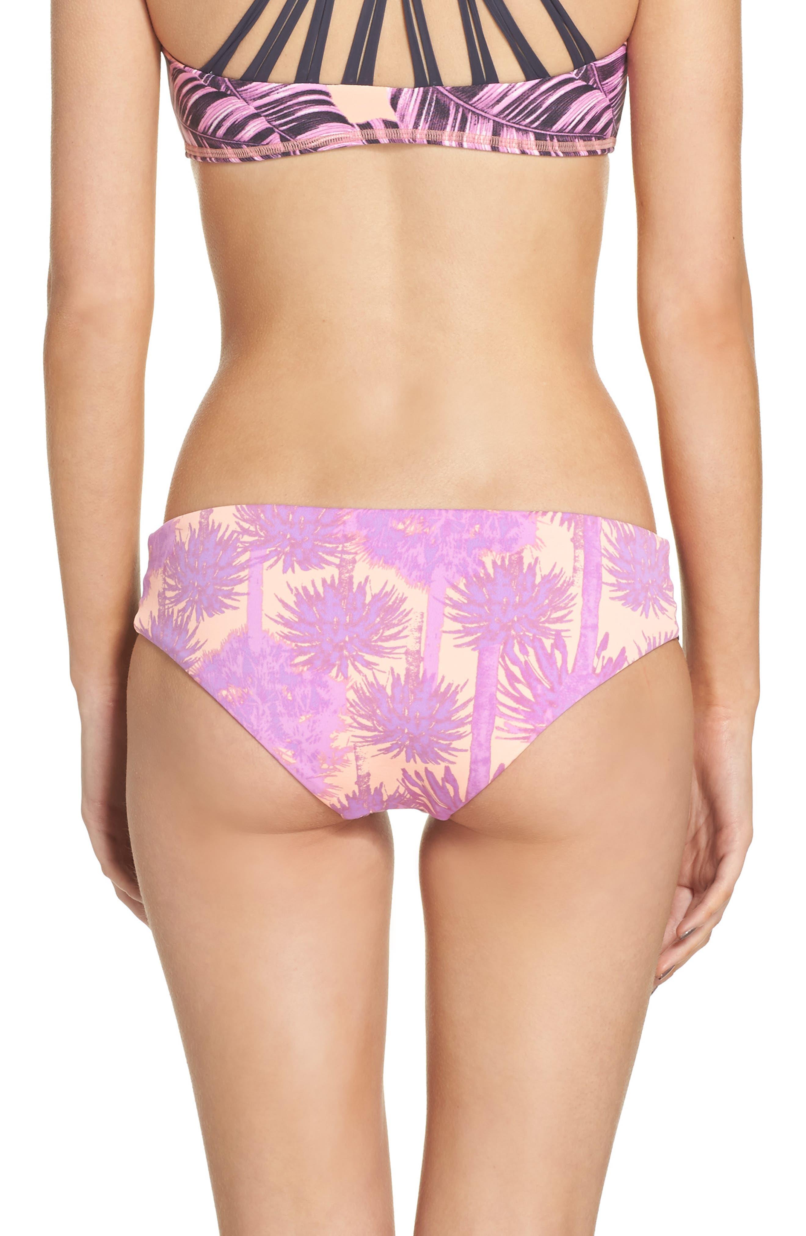 Alternate Image 3  - Maaji Pink Sunset Reversible Bikini Bottoms