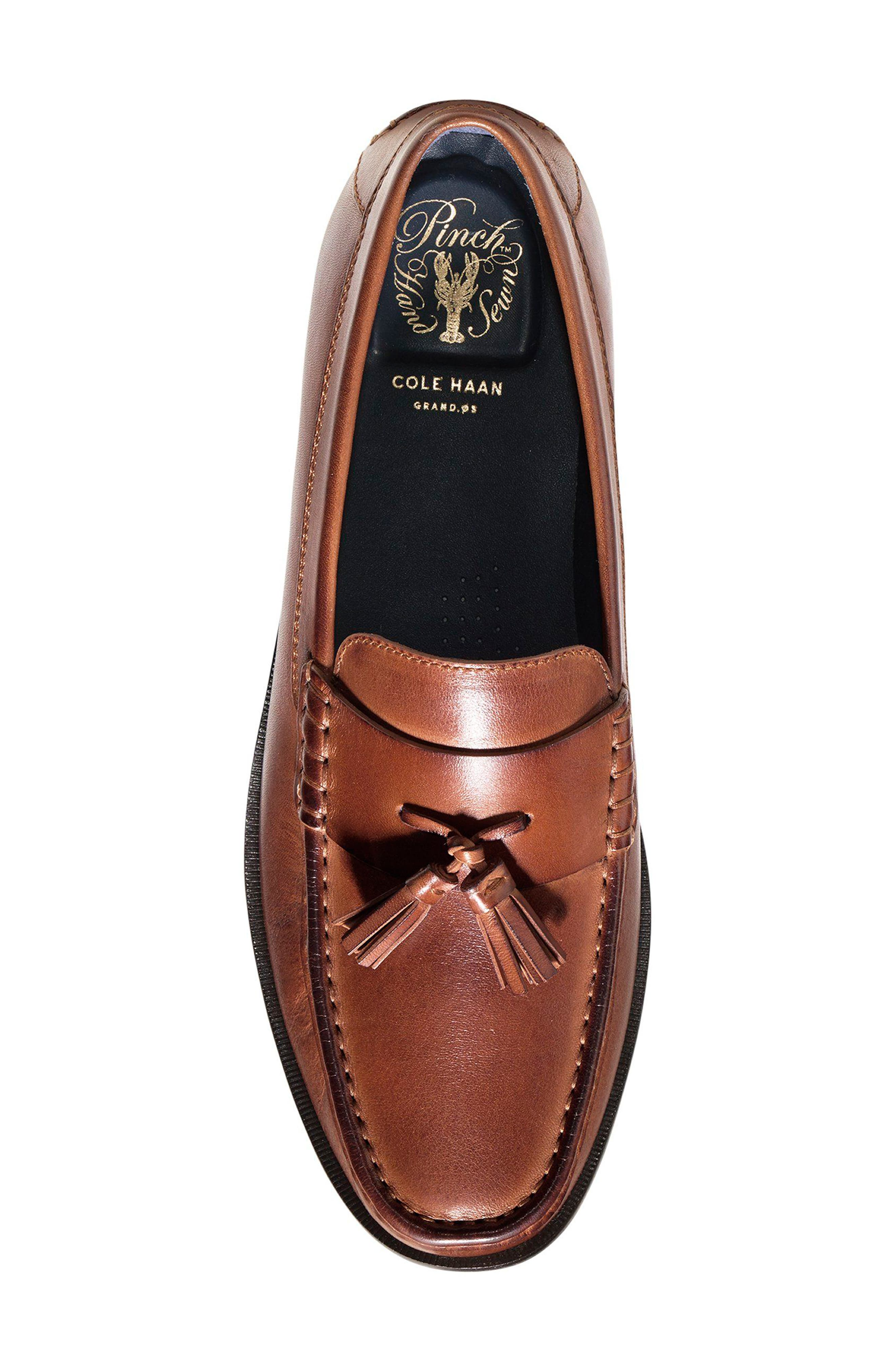 Alternate Image 4  - Cole Haan Pinch Friday Tassel Loafer (Men)