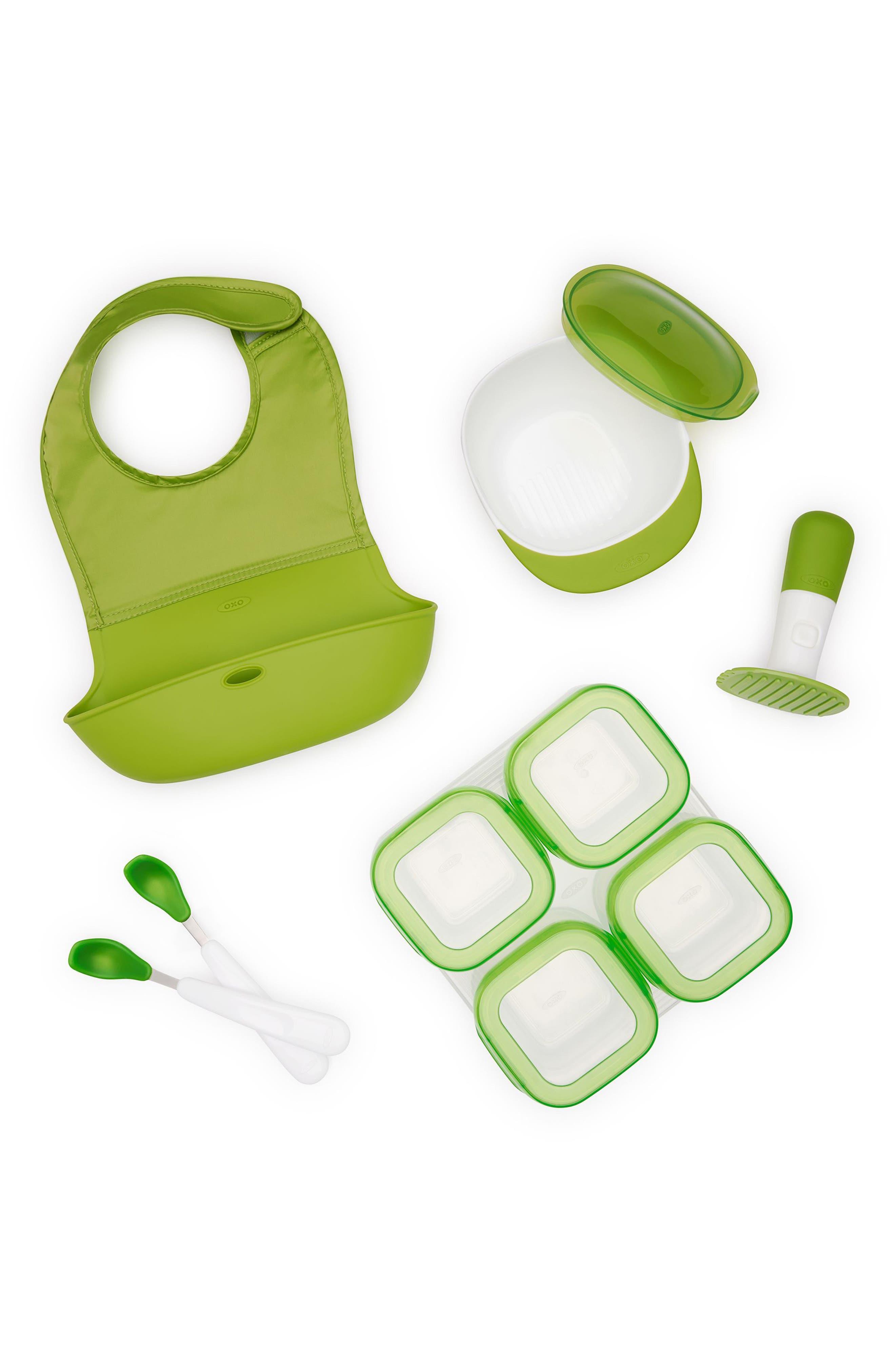 Mealtime Starter Set,                         Main,                         color, Green