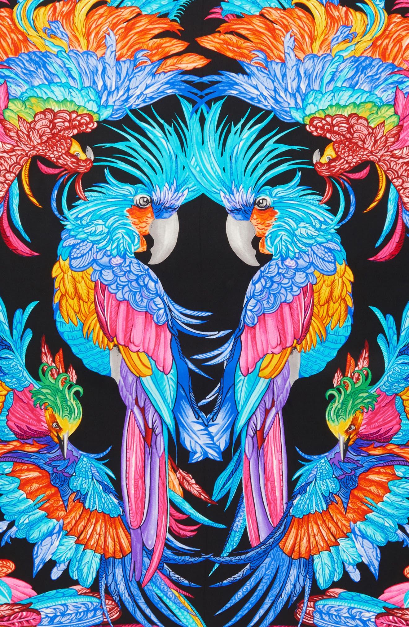 Alternate Image 3  - Echo Parajos Coloridos Square Silk Scarf