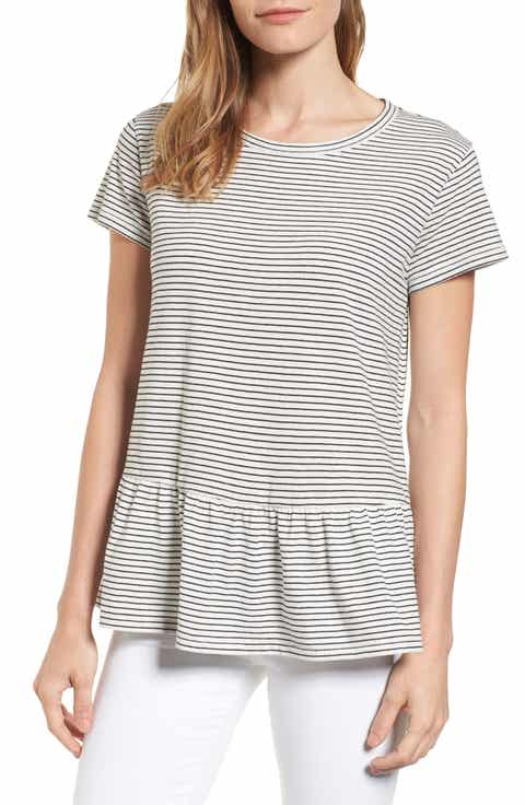 striped shirt womens | Nordstrom
