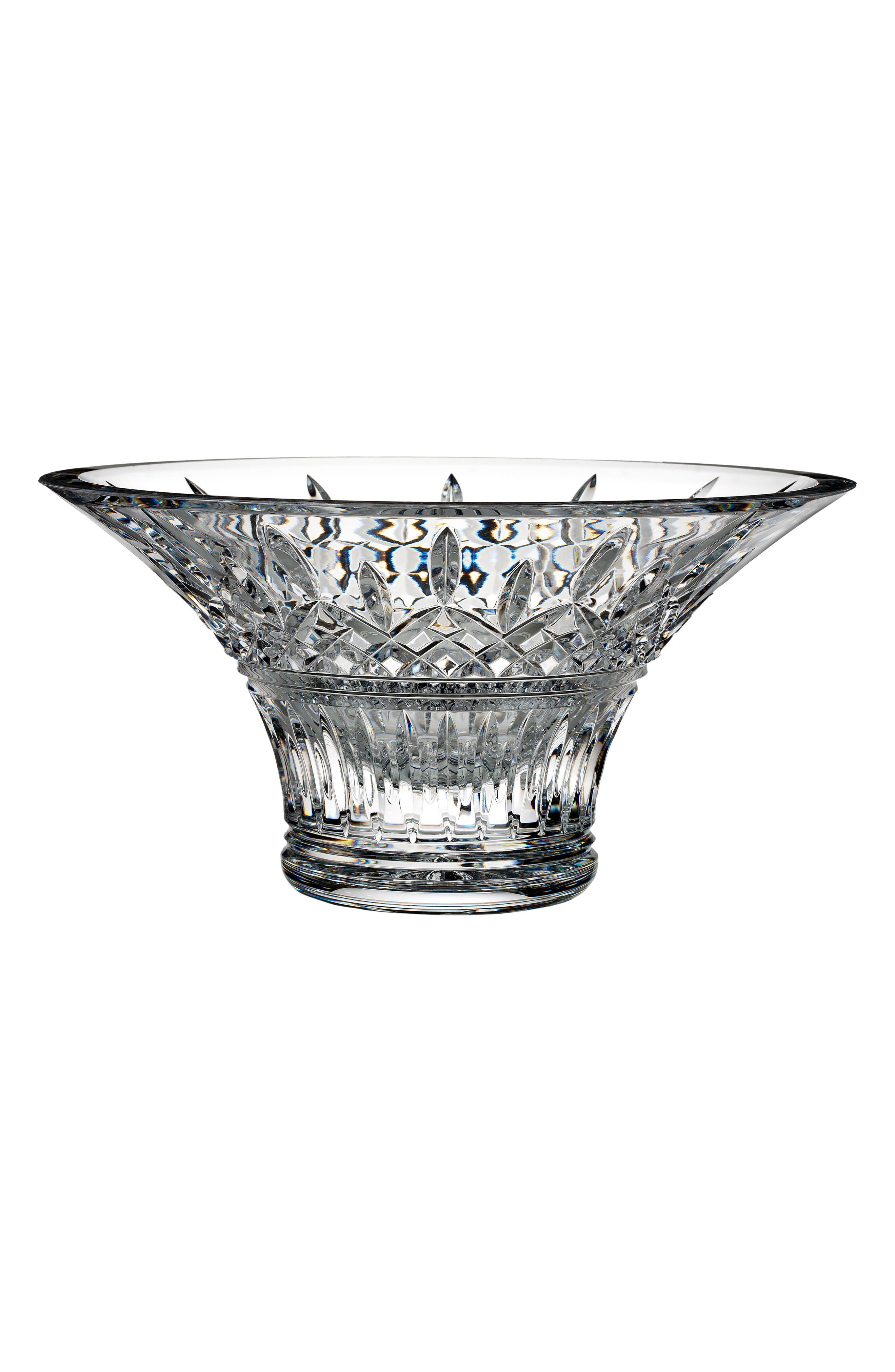 Lismore Lead Crystal Bowl,                         Main,                         color, Crystal