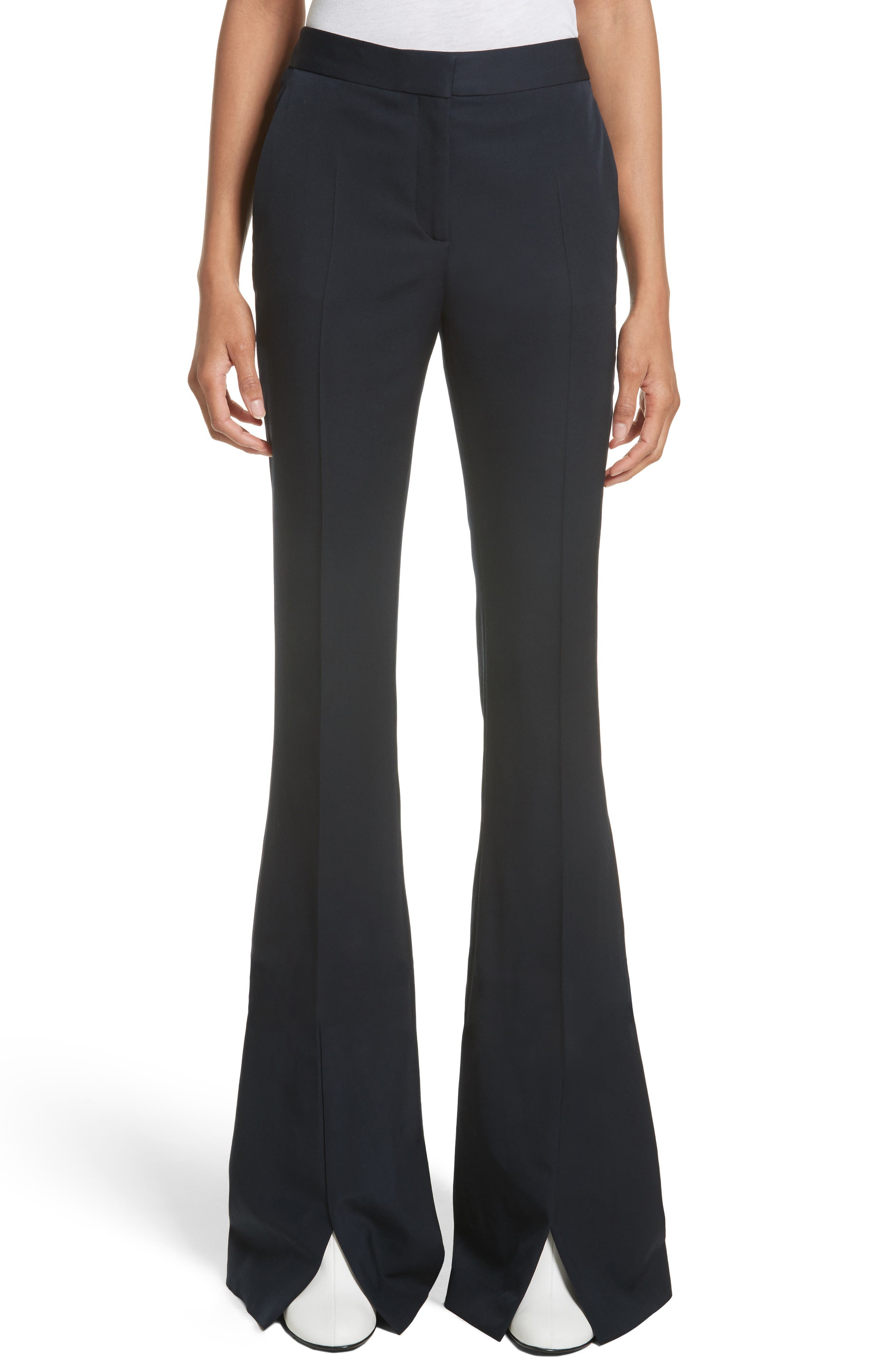 Main Image - Stella McCartney Split Hem Flare Trousers