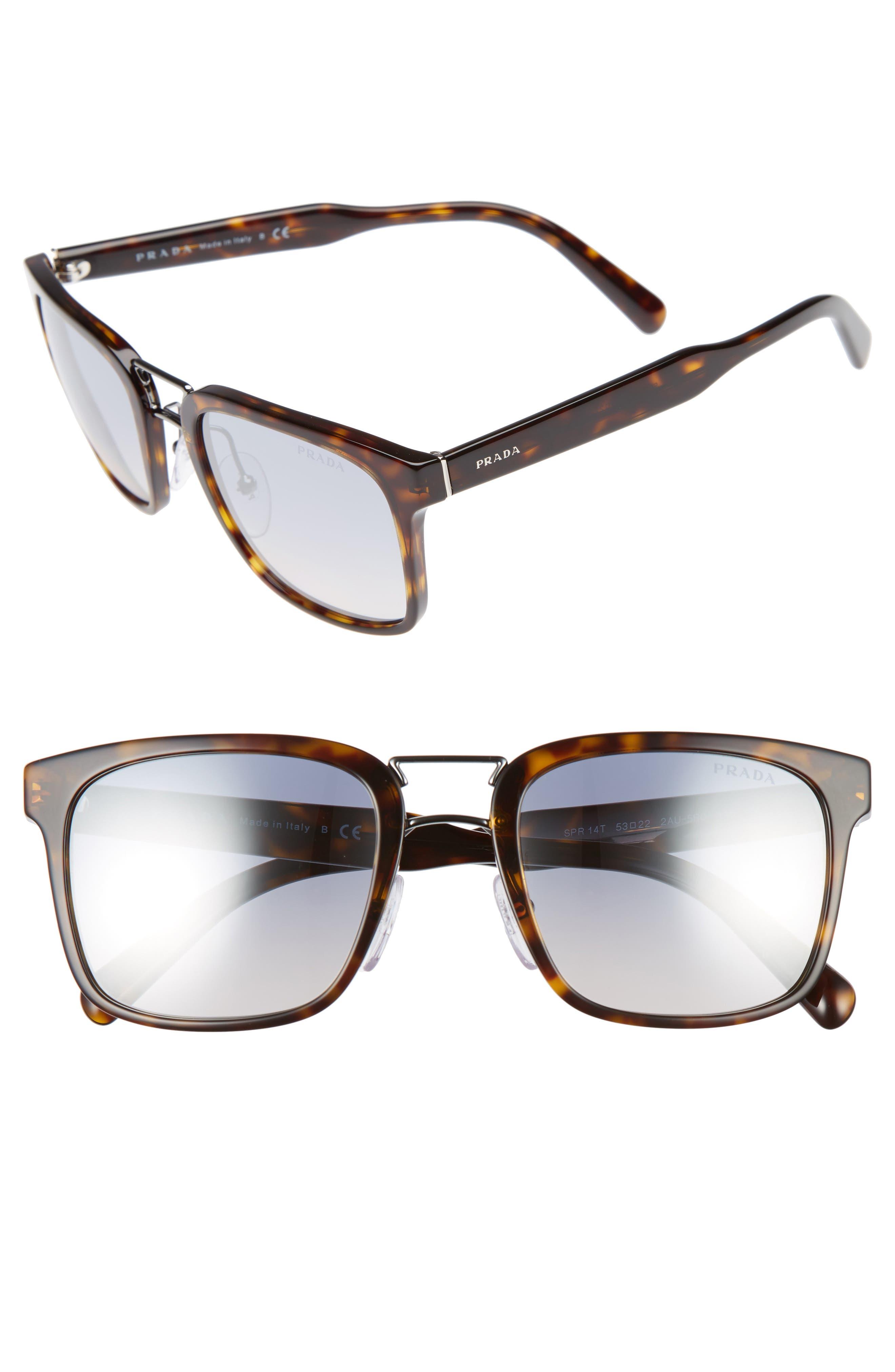 Prada 53mm Sunglasses